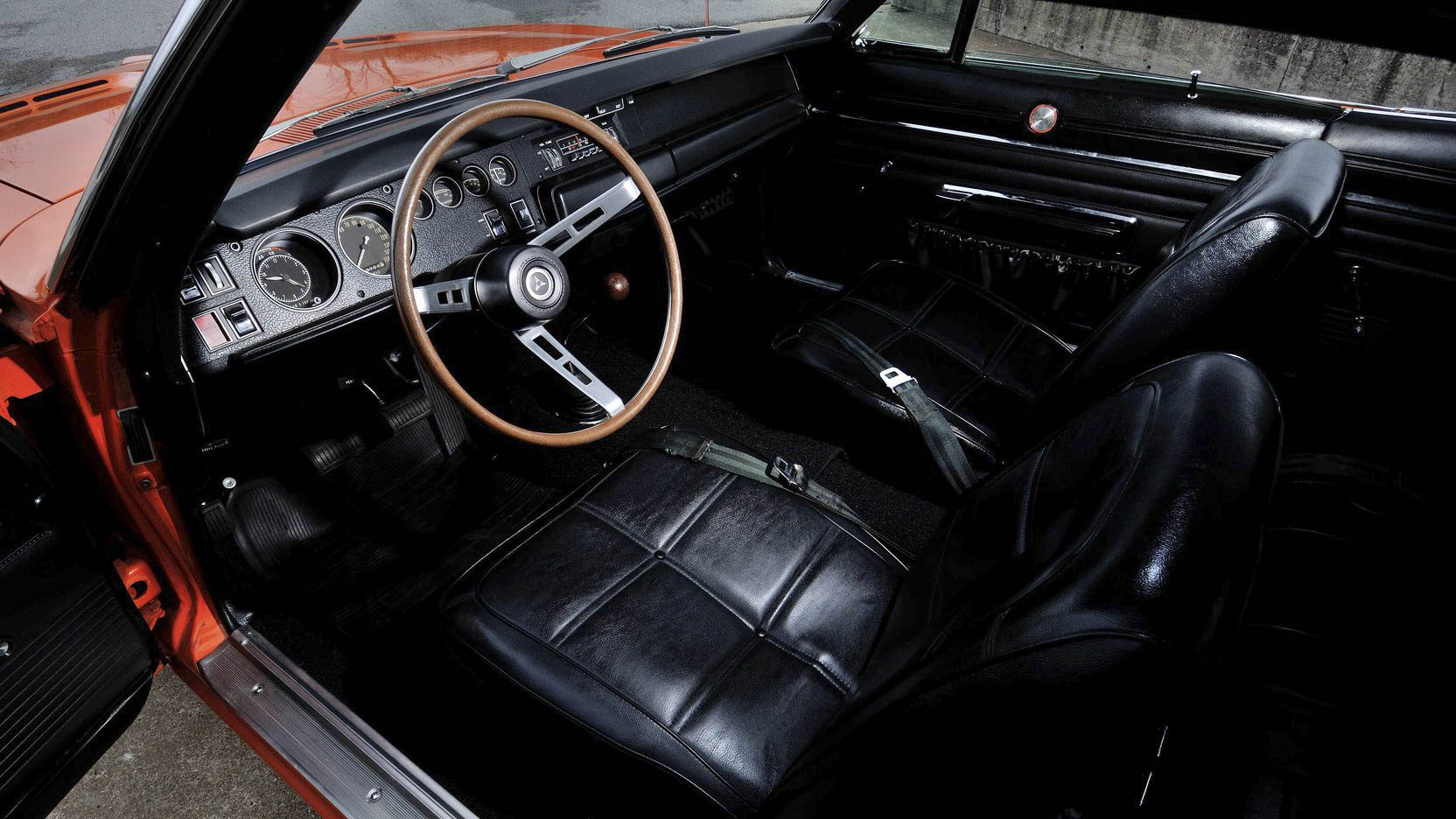 1969 Dodge Charger 500 interior