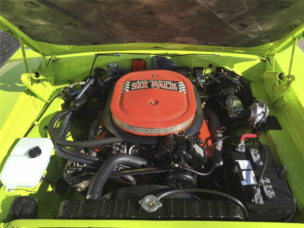 1970 Dodge Charger R/T Magnum engine