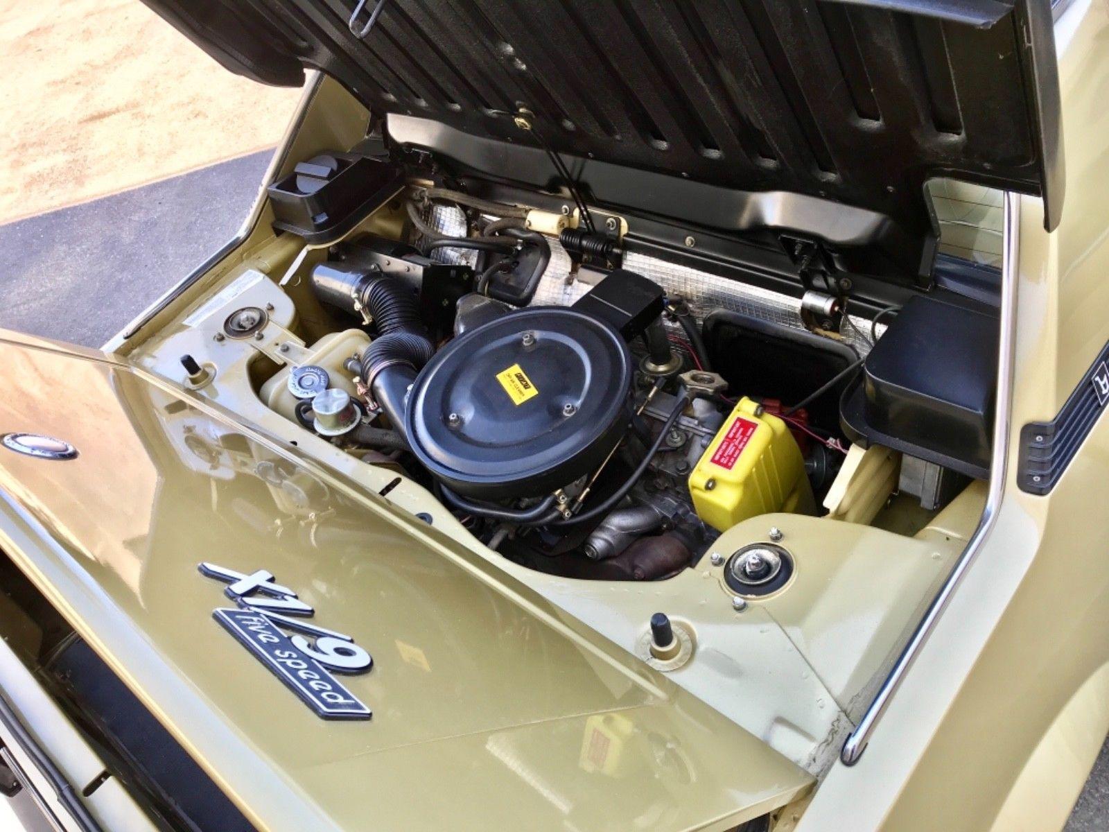 1979 Fiat X1/9 engine