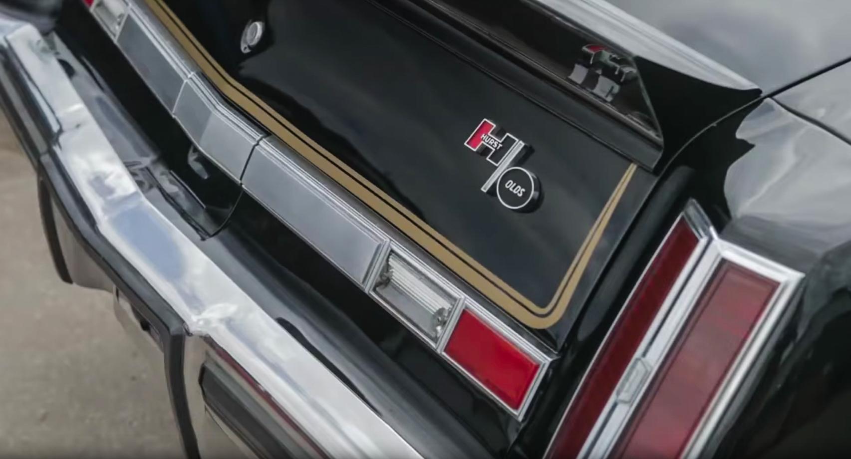 1975 Hurst Oldsmobile Colonnade W-30 rear badging