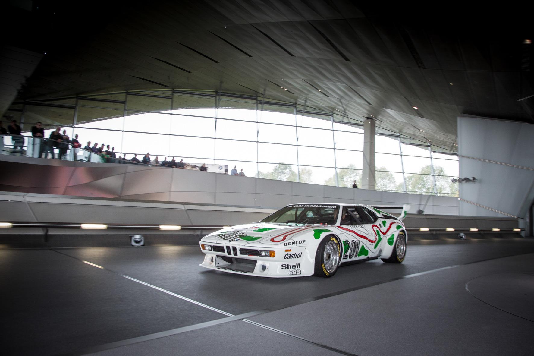 BMW M1 Race Car museum