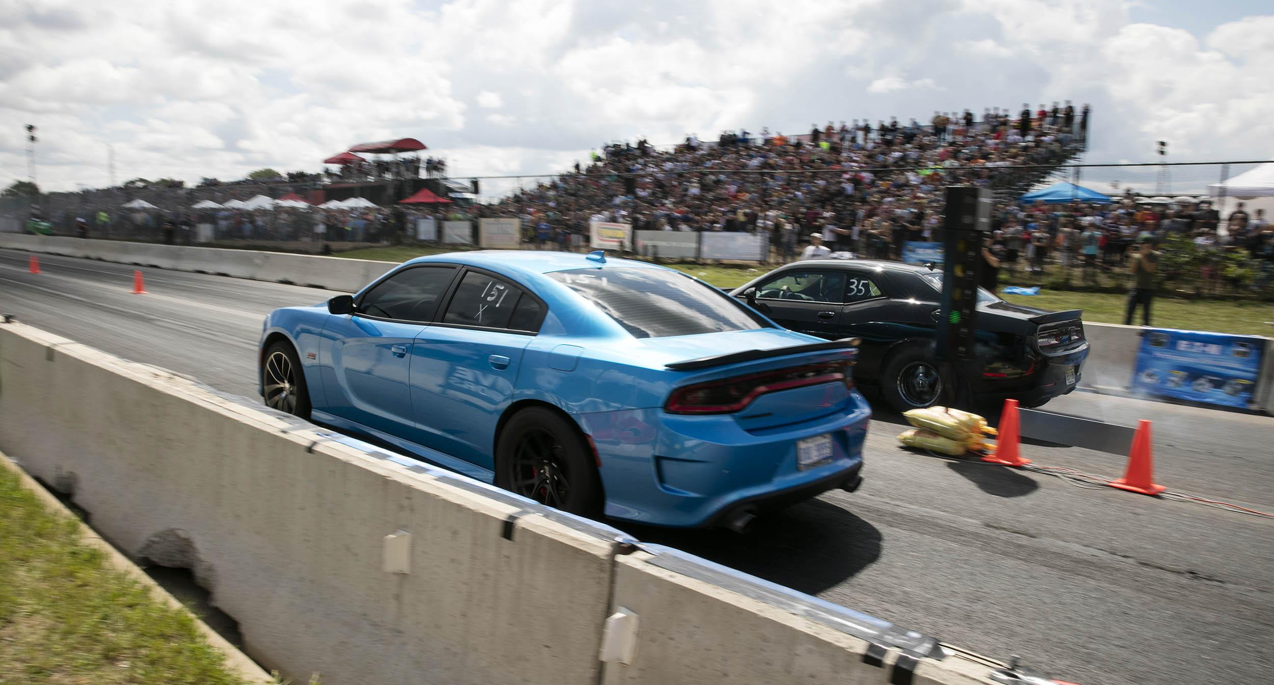Roadkill Nights Powered by Dodge drag racing