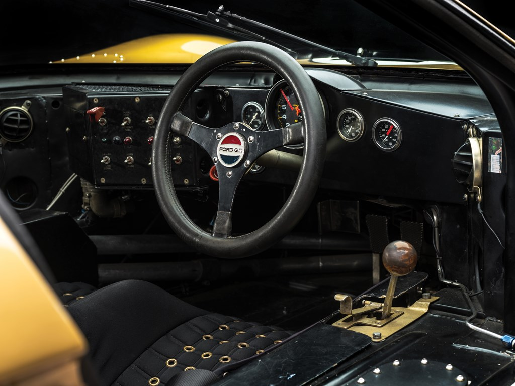1966 ford gt40 steering wheel