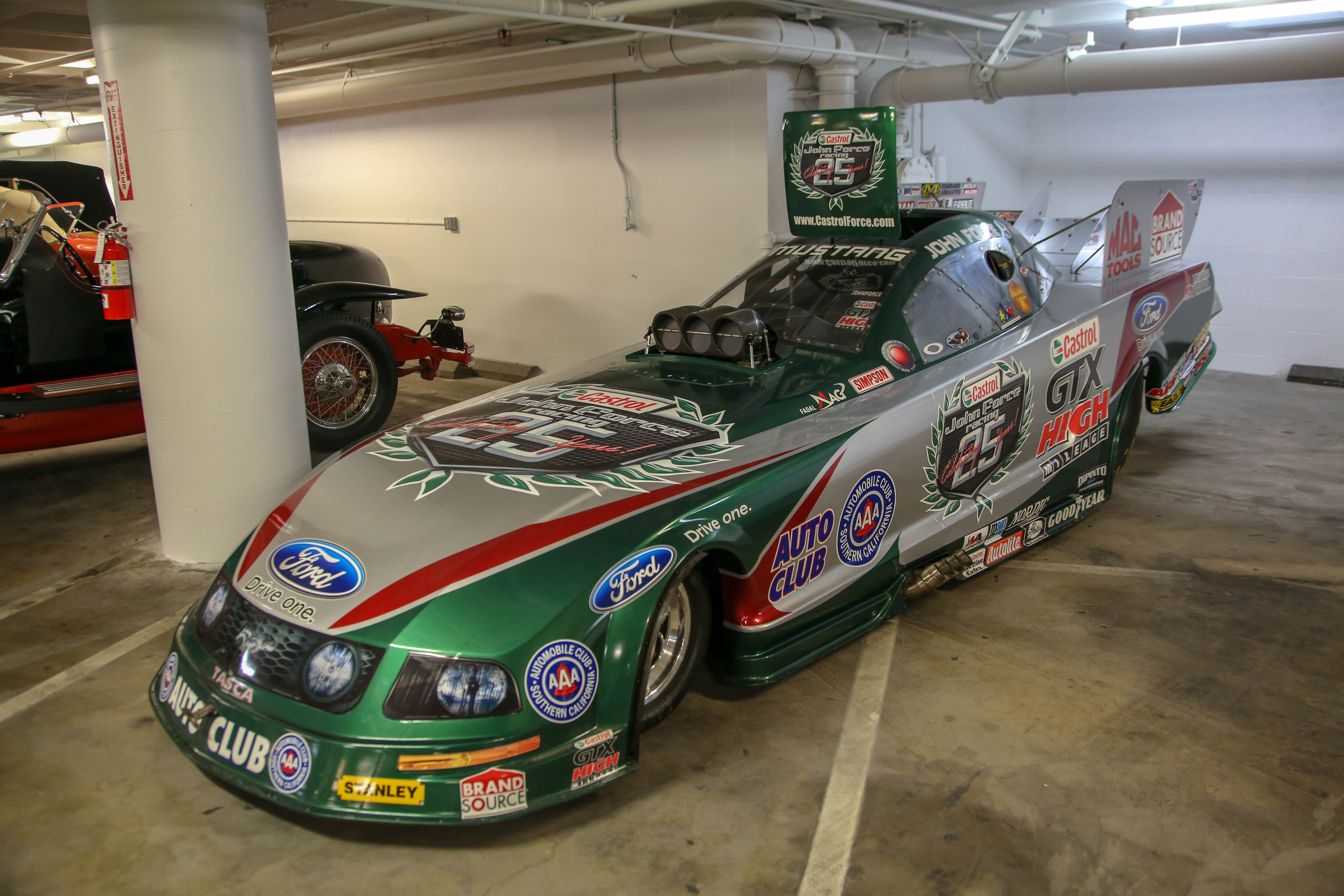 2013 ford mustang funny car