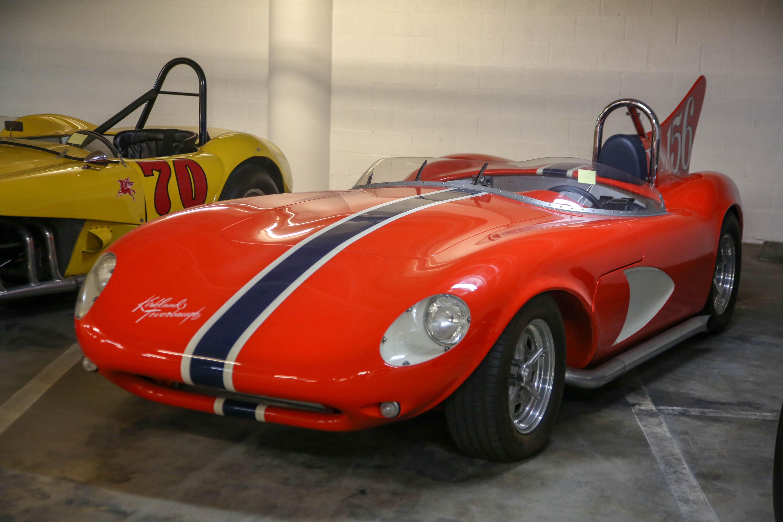 petersen vault 1957 race car