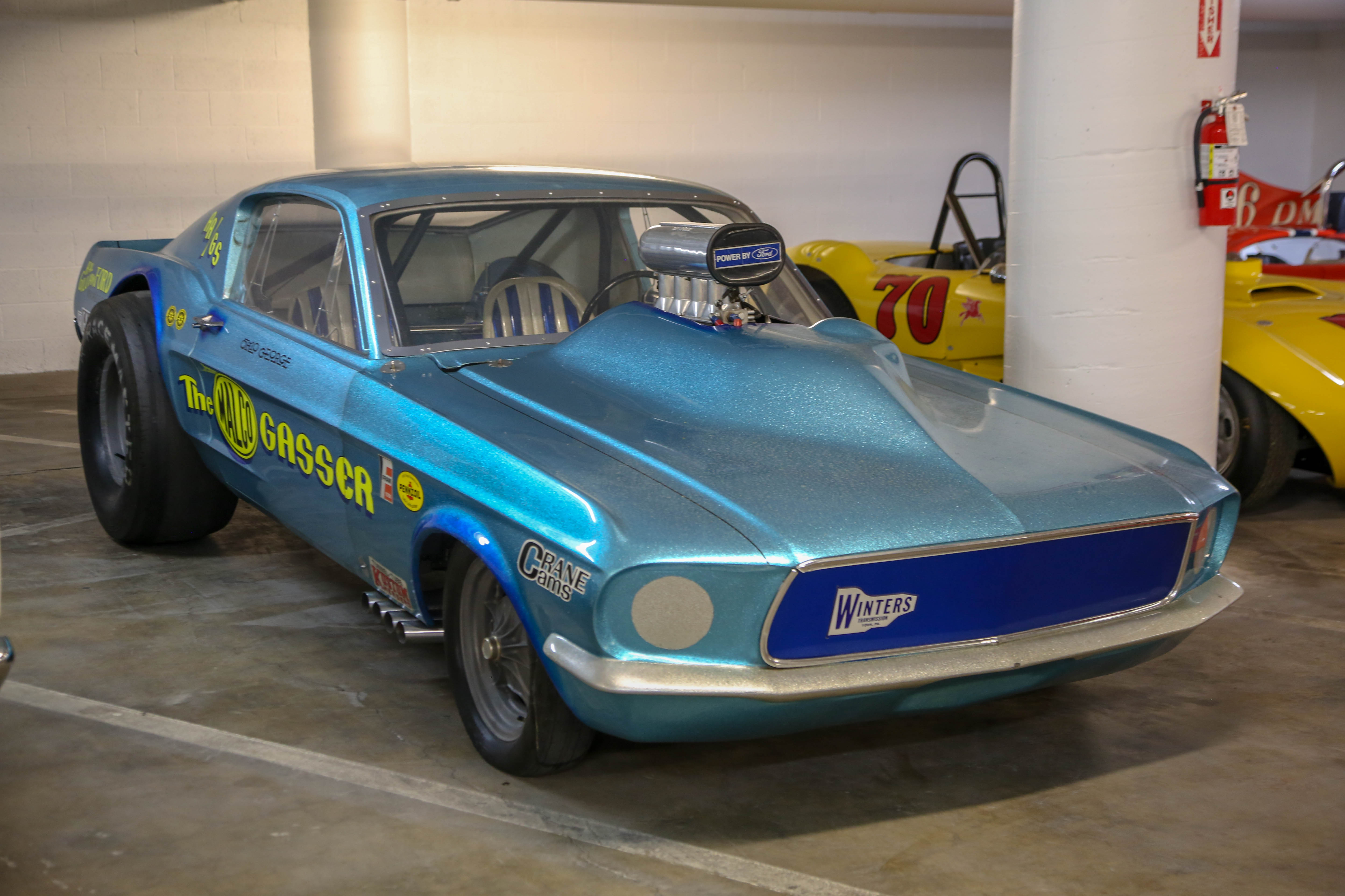 1967 ford mustang the malco gasser