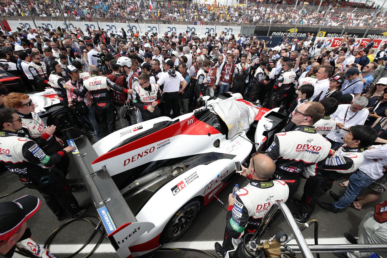 GR Super Sport Concept post race