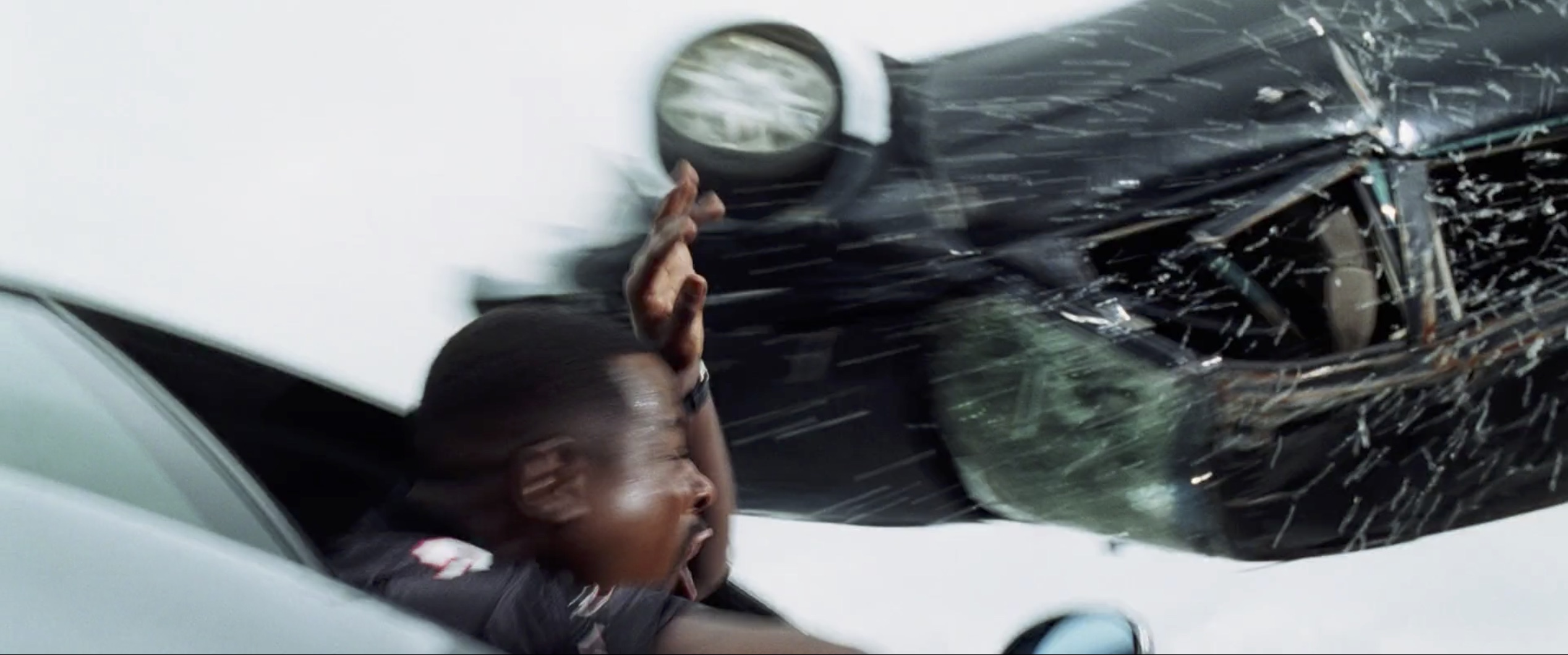Bad Boys II car crash in air