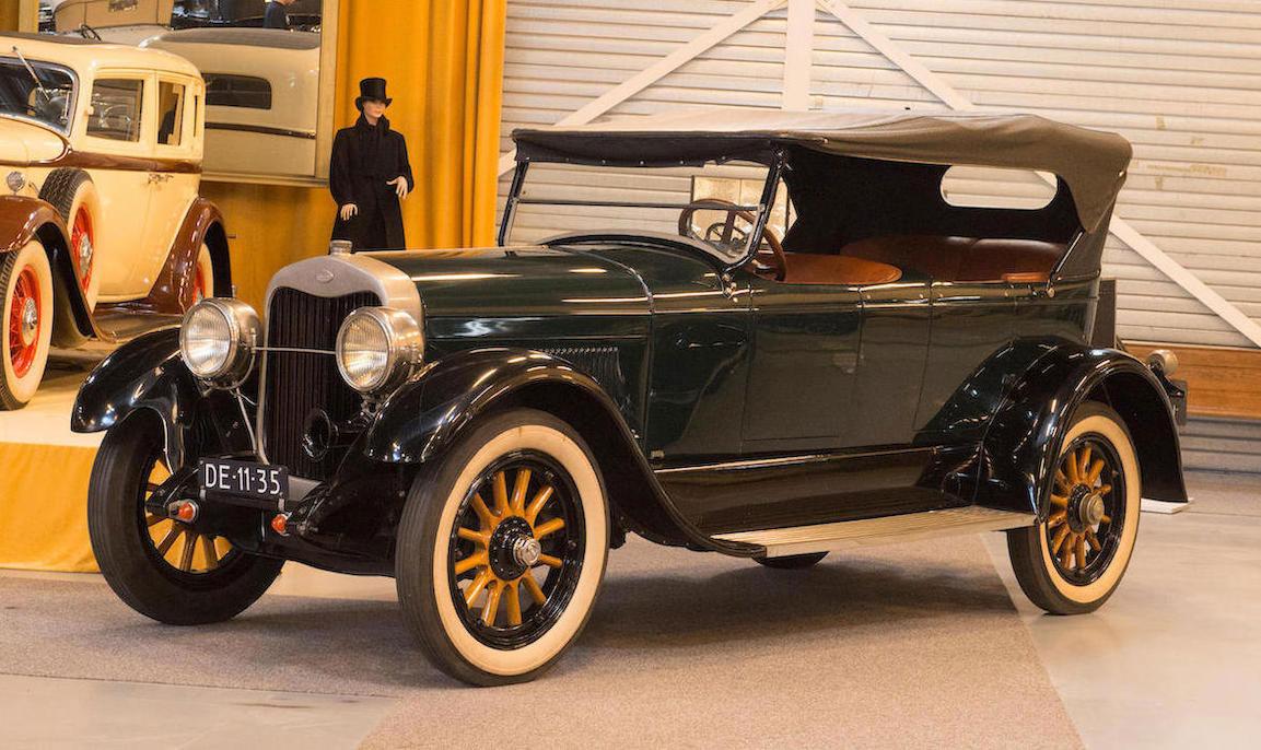 1923 Lincoln Model L Type 124A Phaeton