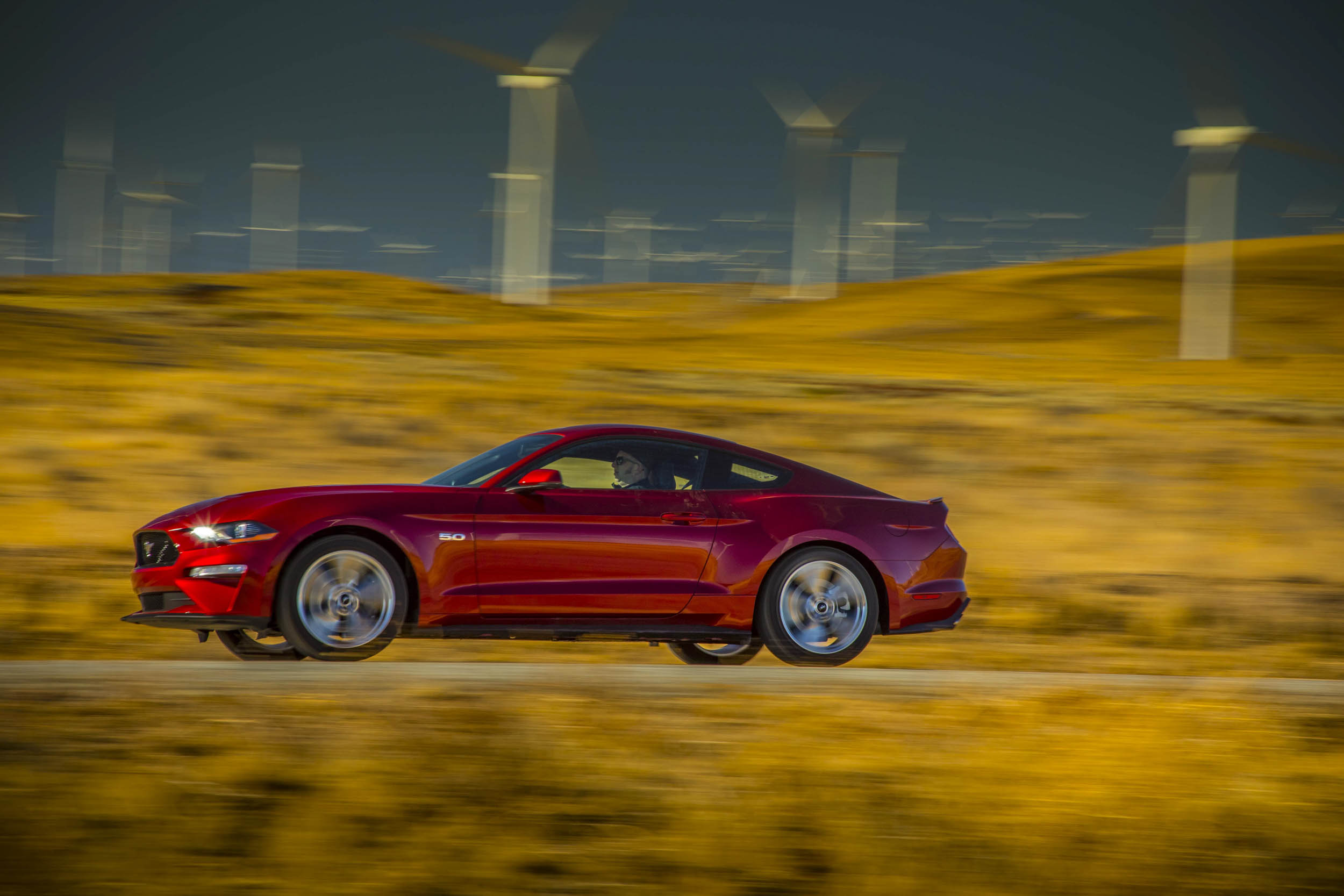 2018 Ford Mustang GT profile