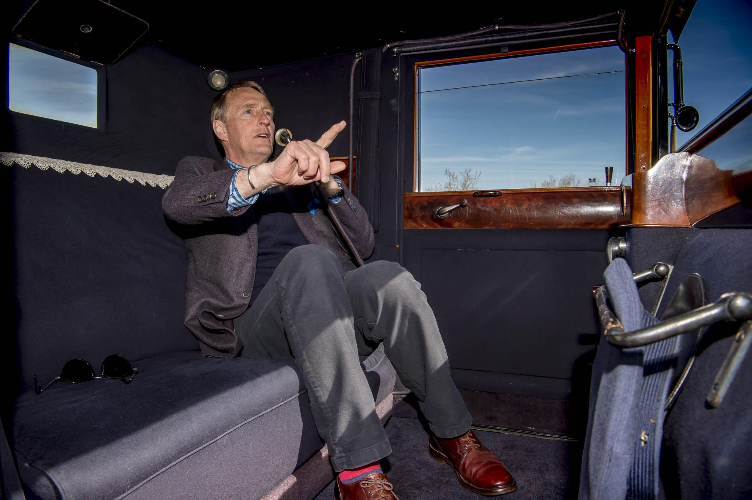 renault coupe de ville passenger and interior