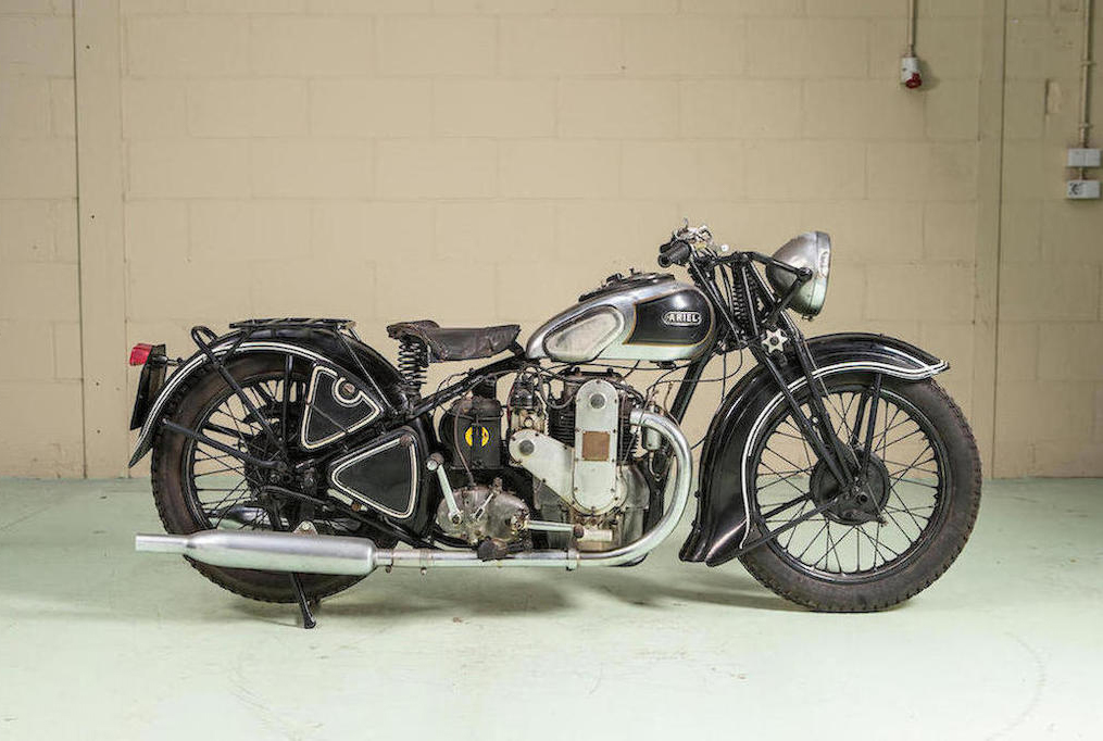 1936 Ariel 600-cc Square Four 4F/6