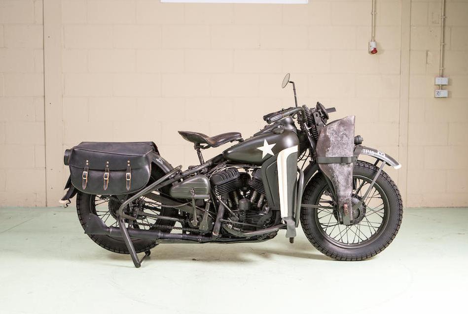 1943 HARLEY-DAVIDSON 750CC WLA