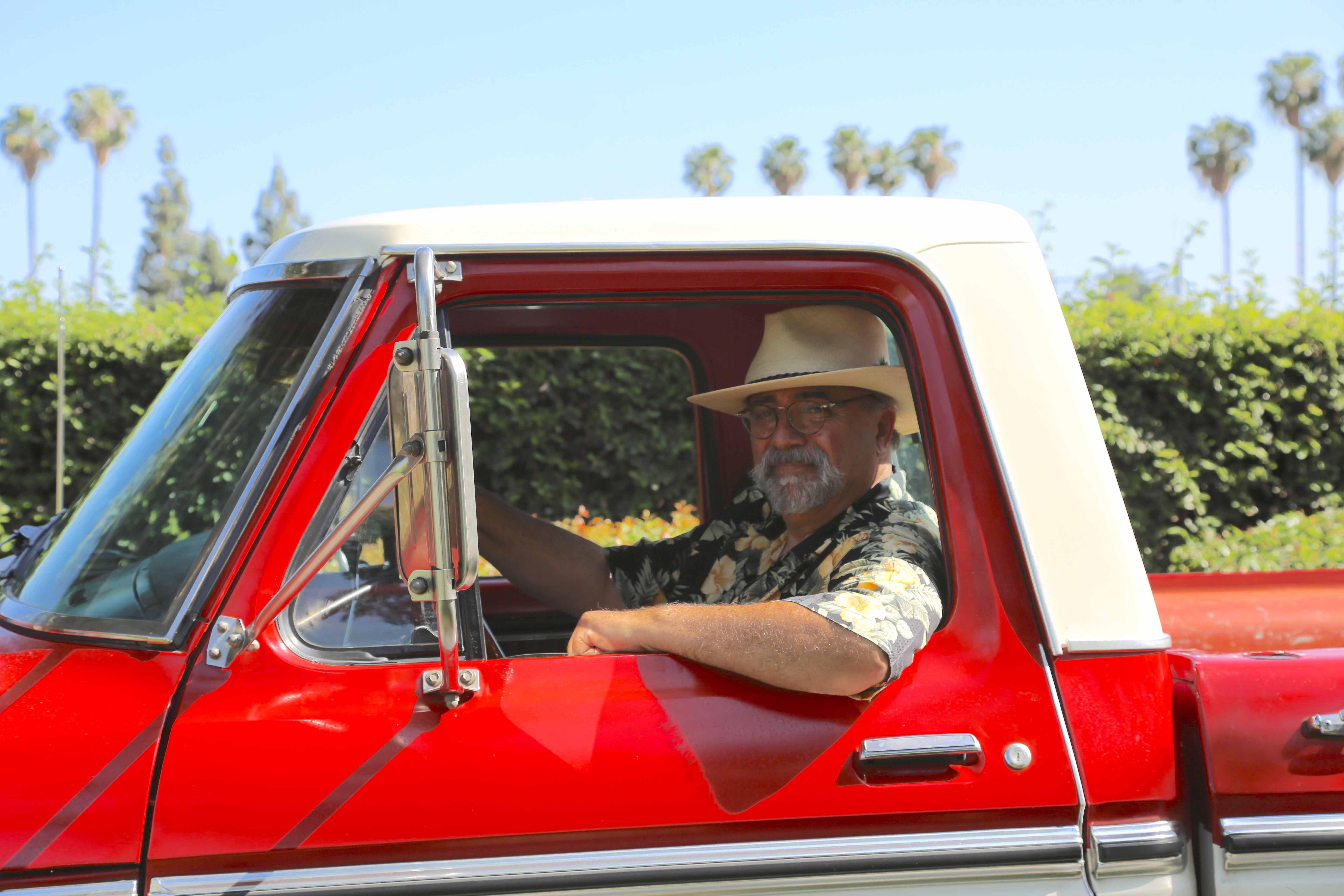 1974 Ford F350 Super Camper and owner driver