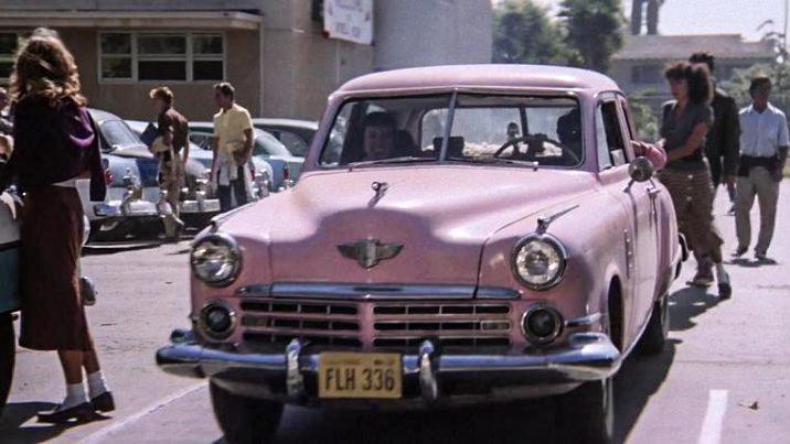 1948 Studebaker Commander Regal Rizzo pink ladies