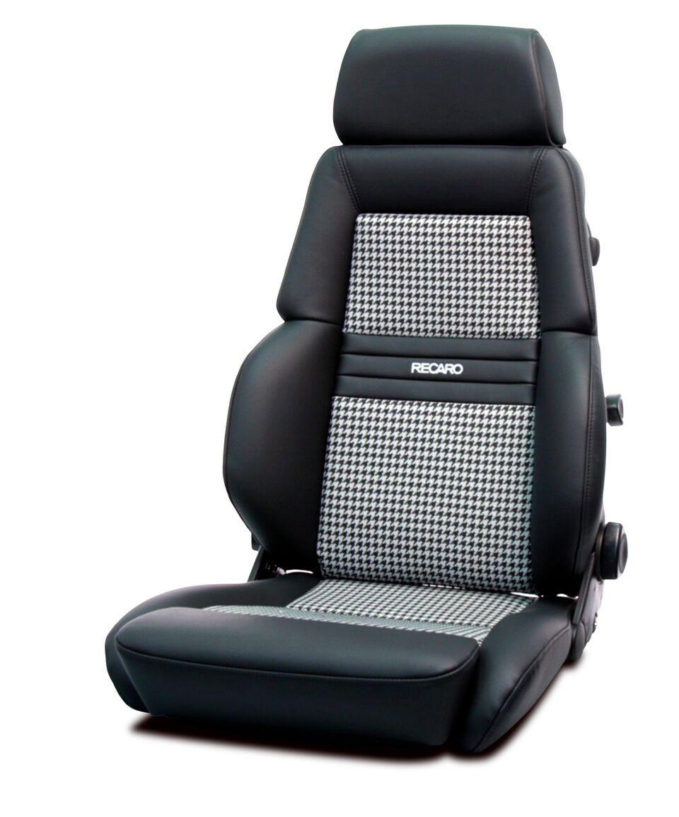 Recaro Expert Houndstooth pattern seat