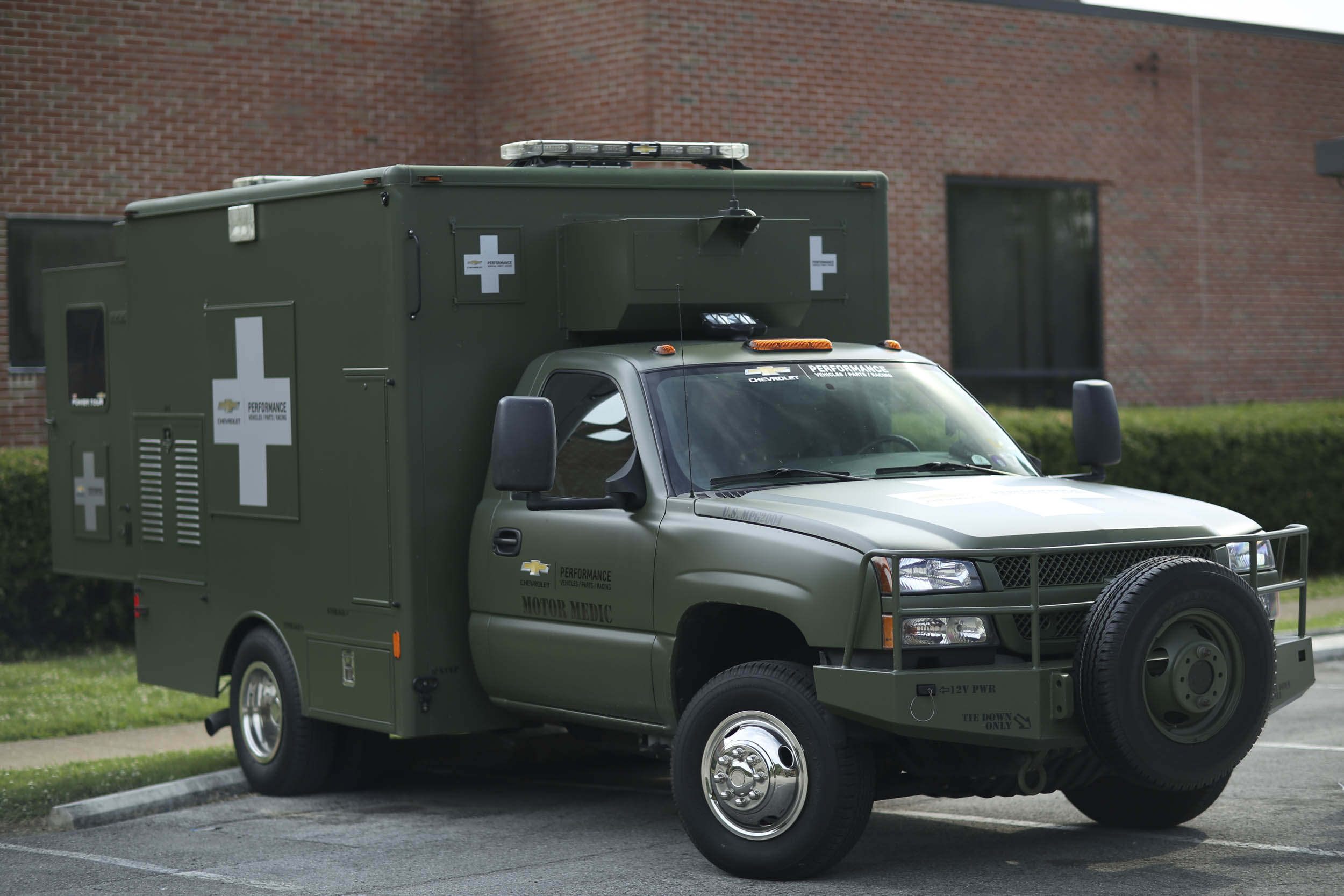 GM's Motor Medics help fix cars that limp into each venue, no matter the make or model.