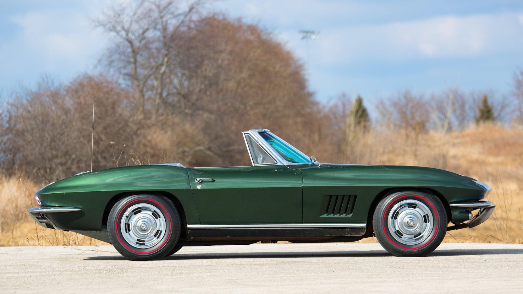 1967 Chevrolet Corvette Convertible (Bart Starr)