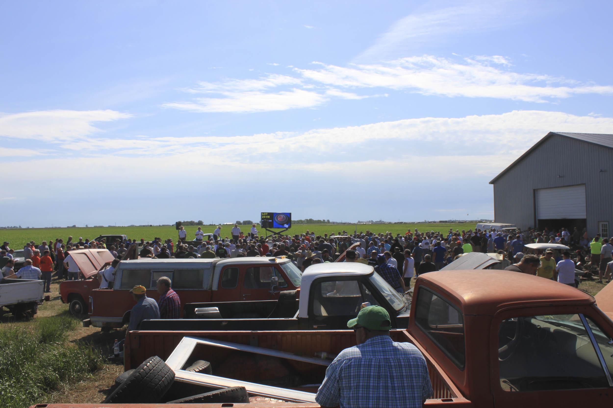 Mopar farm auction