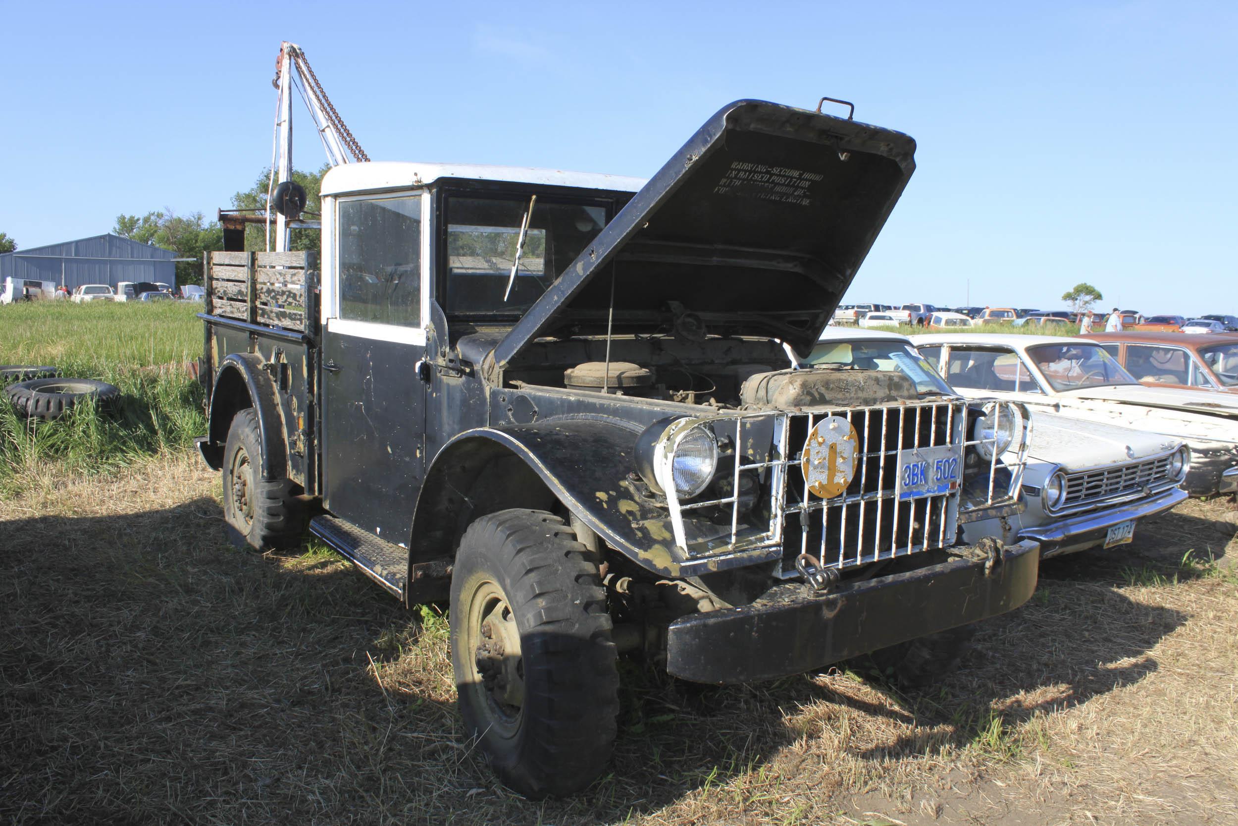 1961 Jeep M37 Wrecker