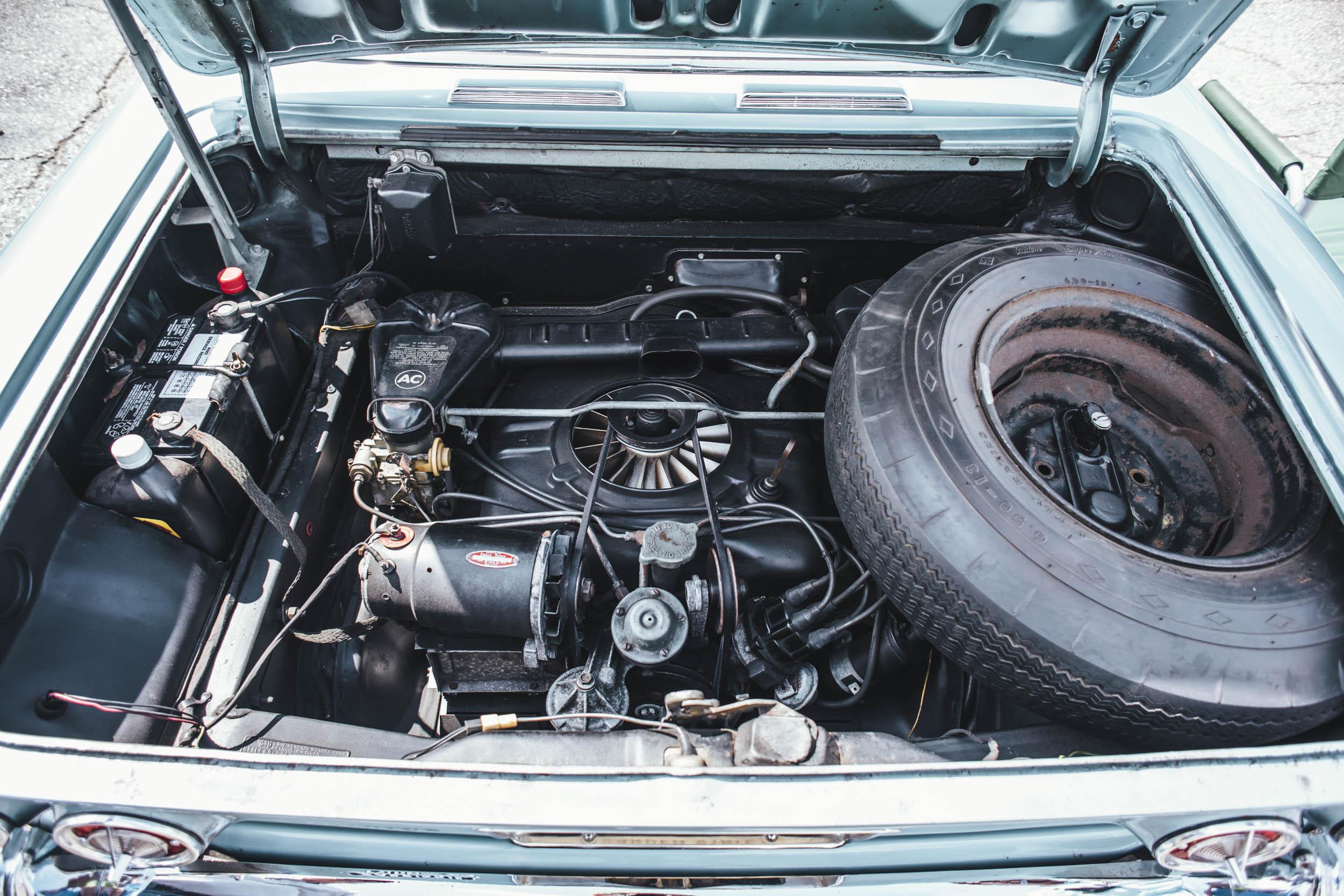 1963 Chevrolet Corvair Monza engine