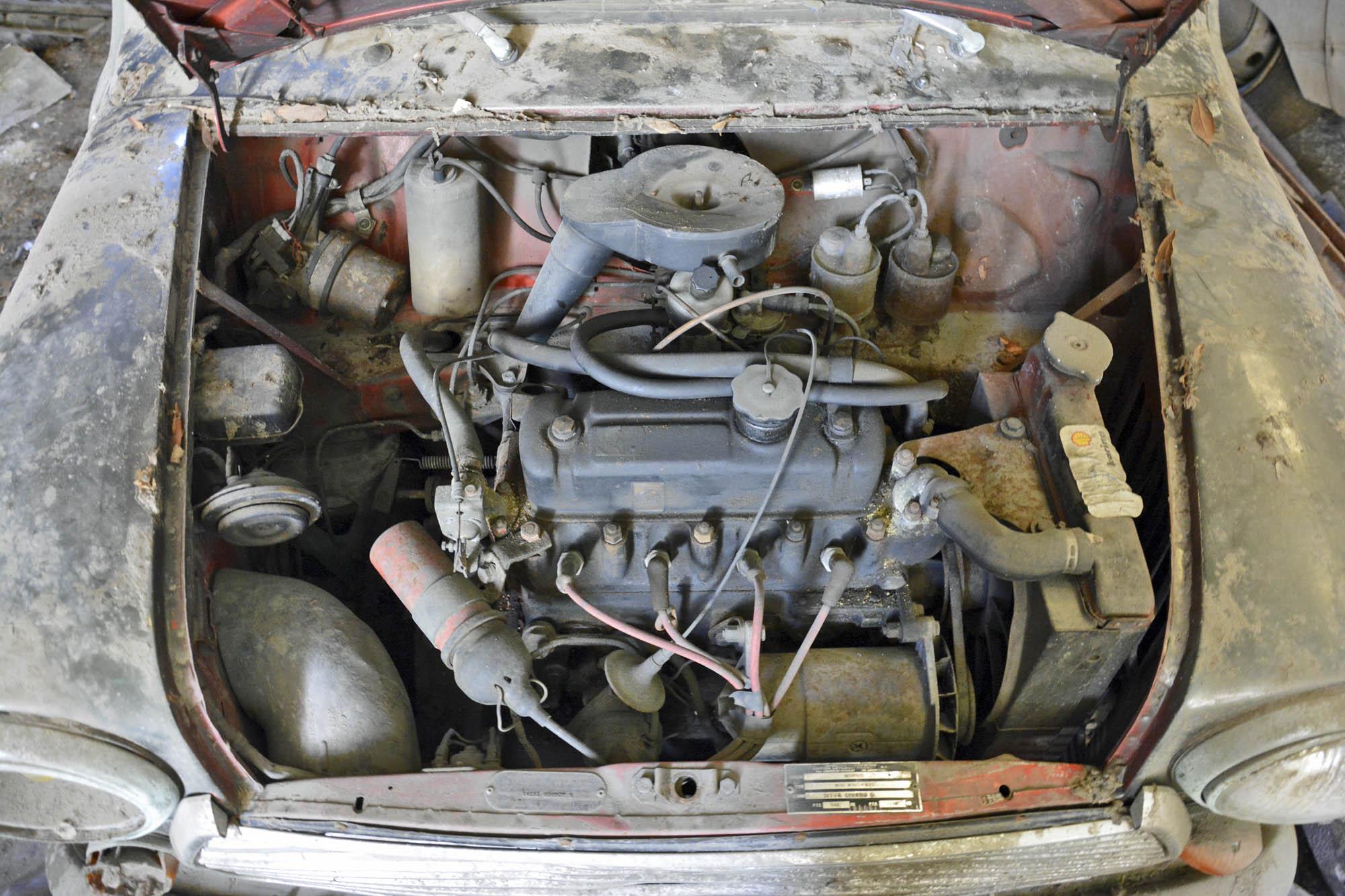 1972 Mini engine