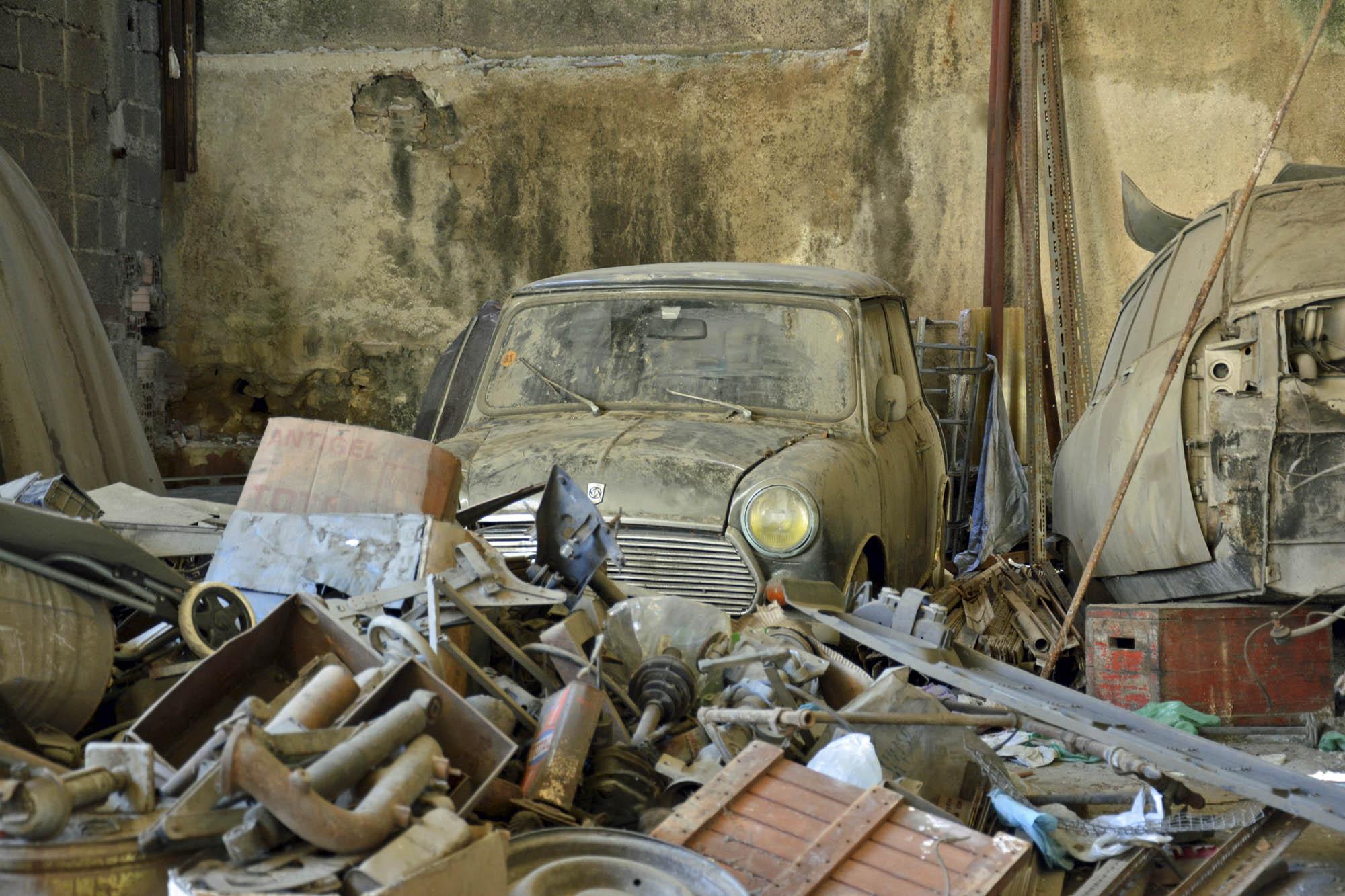 old Citroen parts store