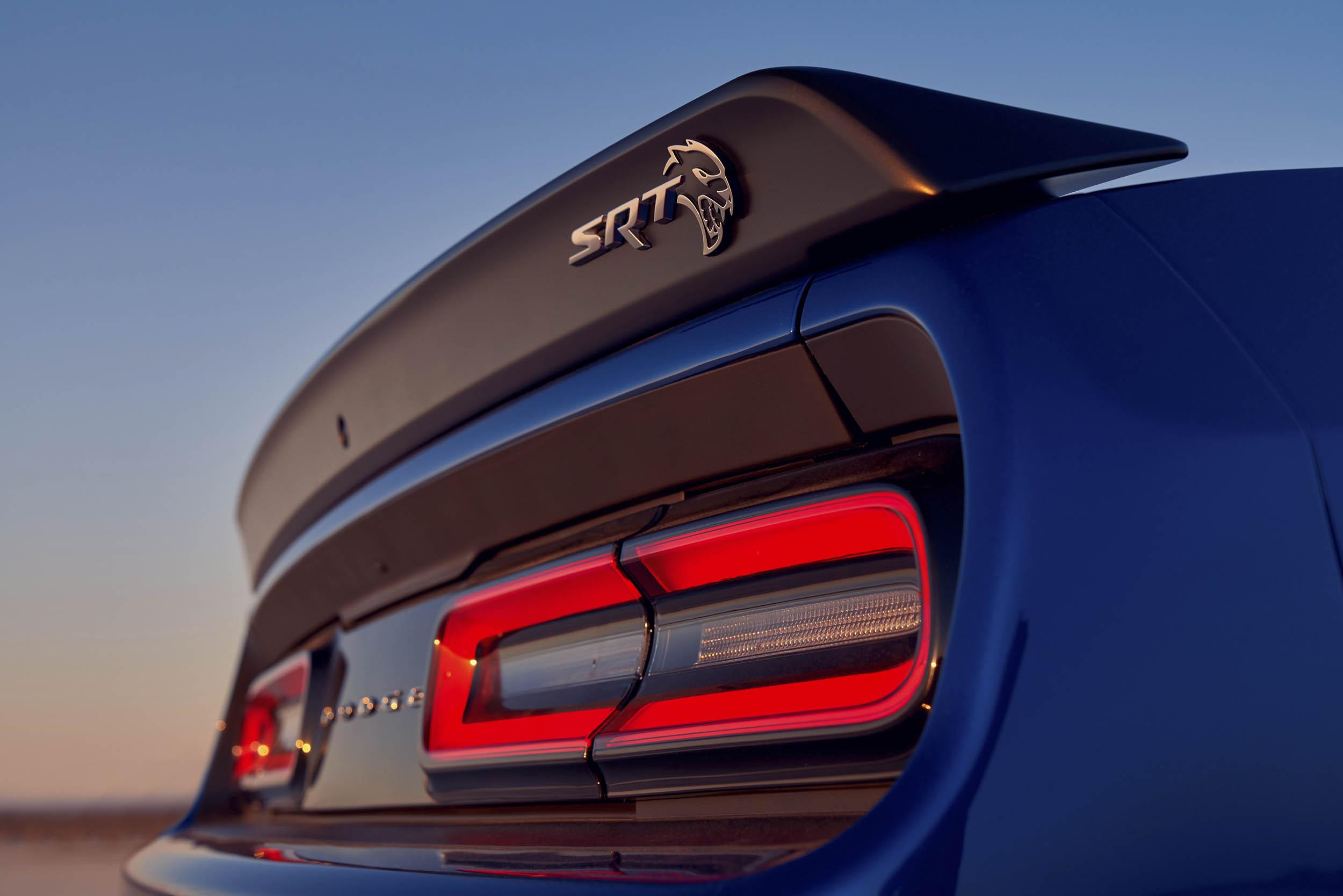 SRT Spoiler on 2019 Dodge Challenger SRT Hellcat Widebody