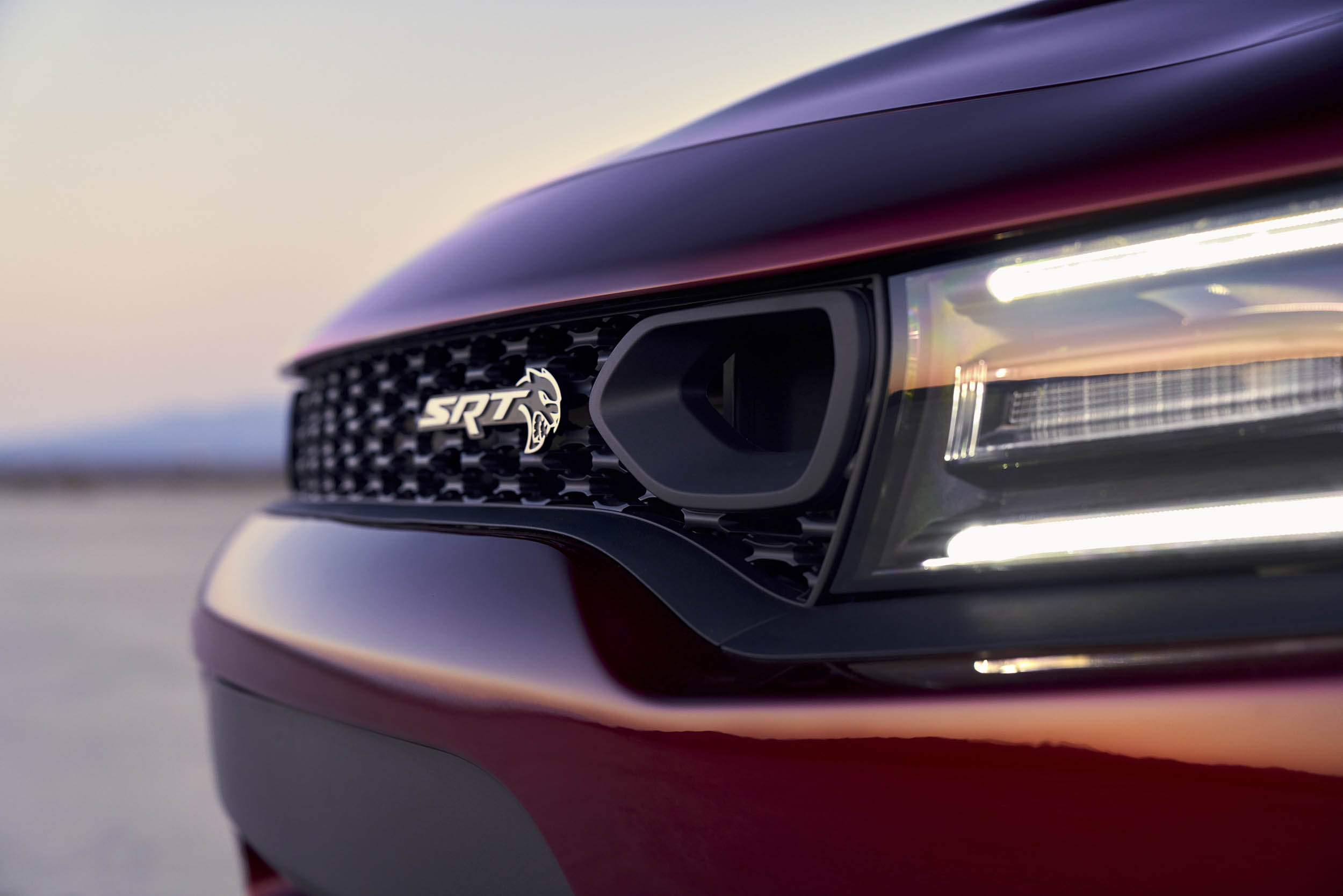 2019 Dodge Charger SRT Hellcat featuring new performance grille with dual air inlets