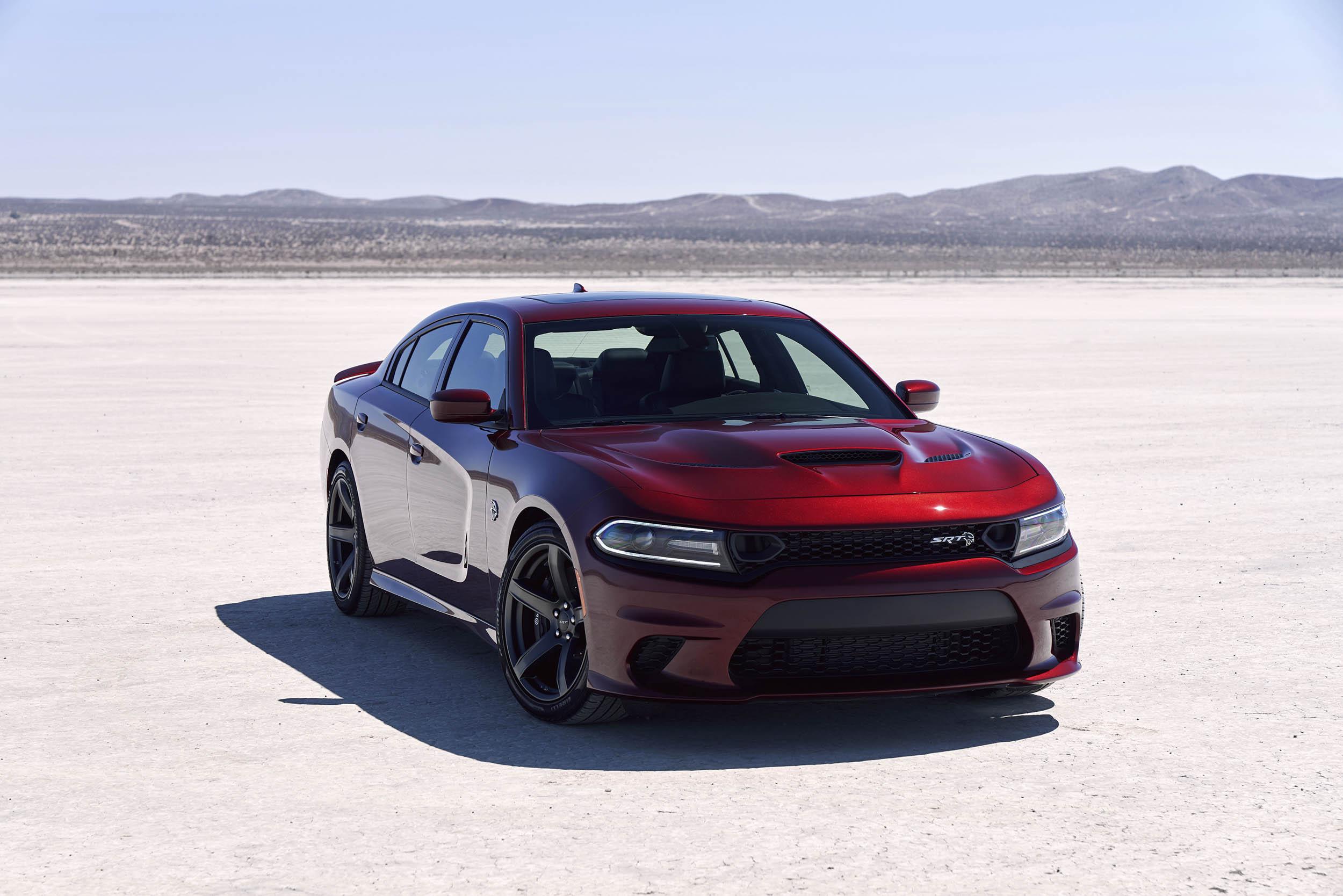 2019 Dodge Charger SRT Hellcat front 3/4