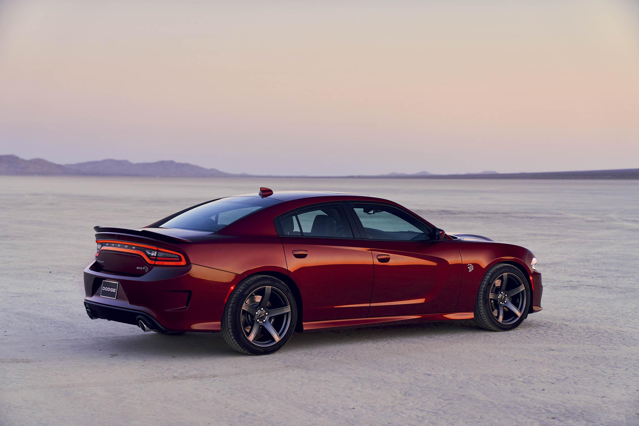 2019 Dodge Charger SRT Hellcat side
