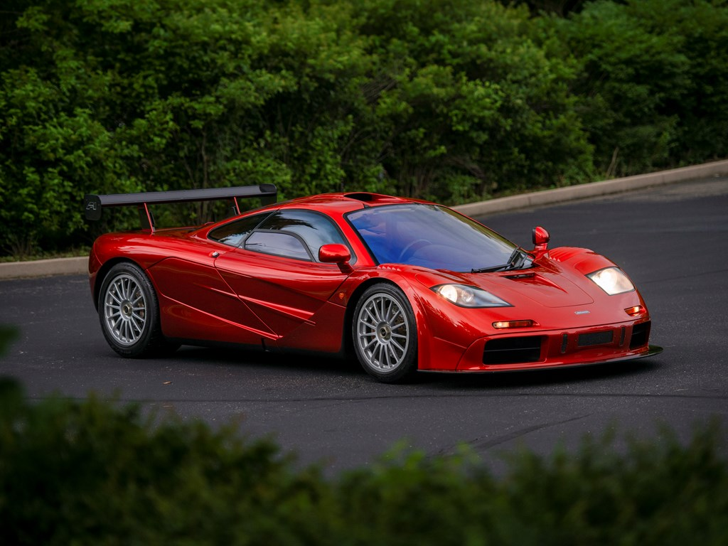 1998 McLaren F1 'LM-Specification' front 3/4