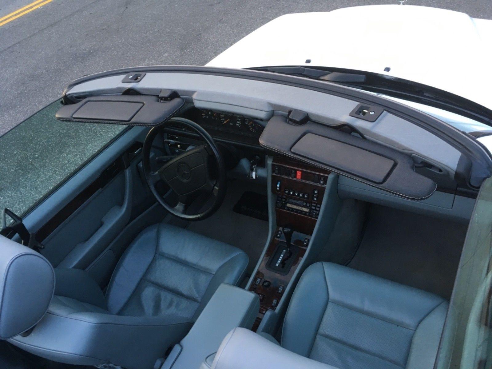 1995 Mercedes-Benz E-Class interior