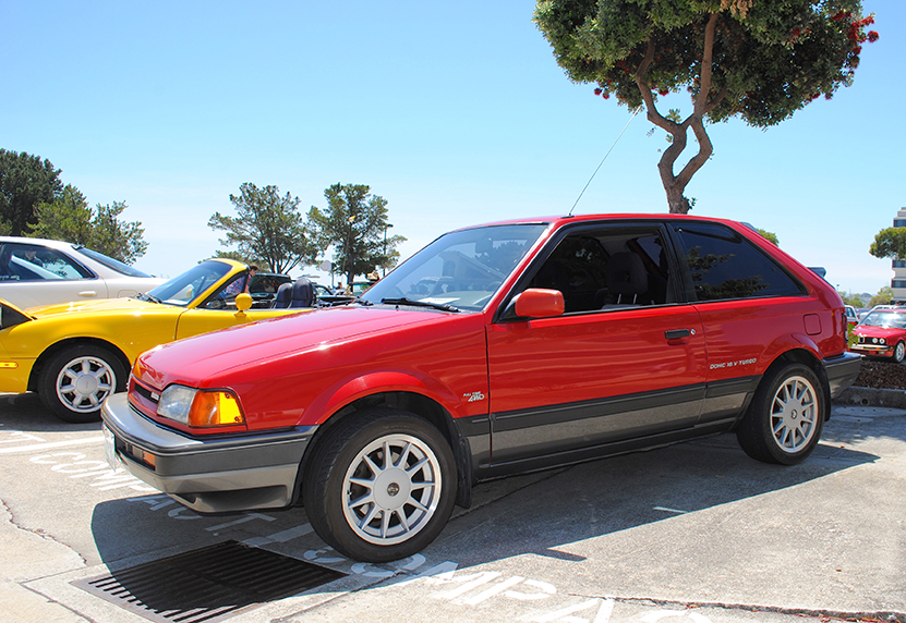 1983 Mazda 323 GTX side profile