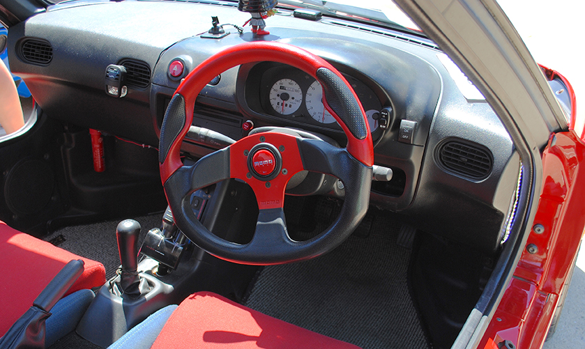 1992 Mazda AZ1 interior