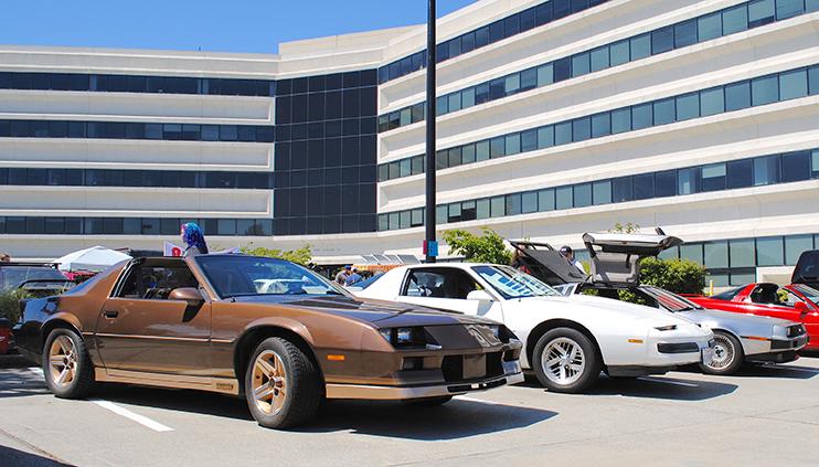 cars at Radwood