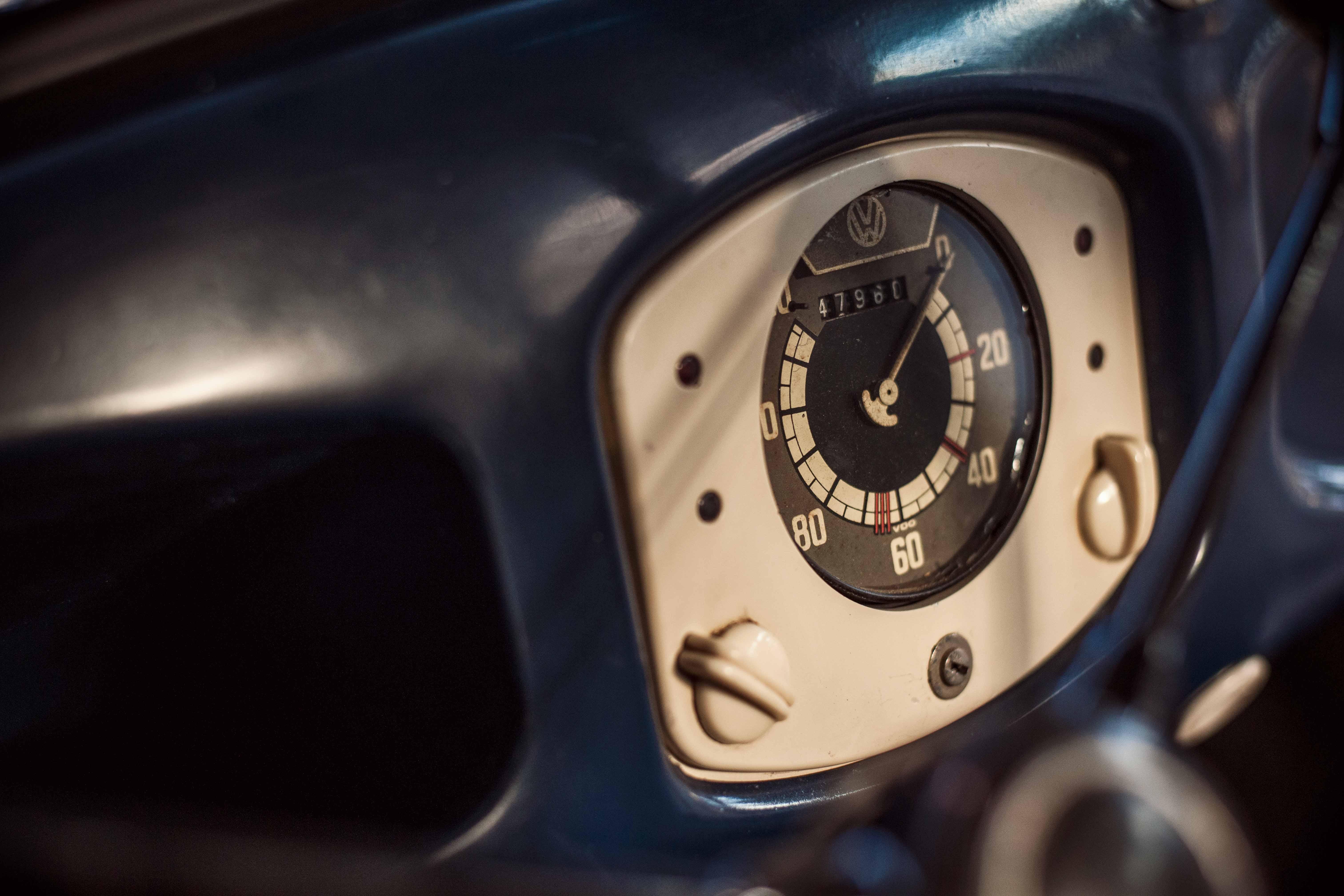 1949 Volkswagen speedometer