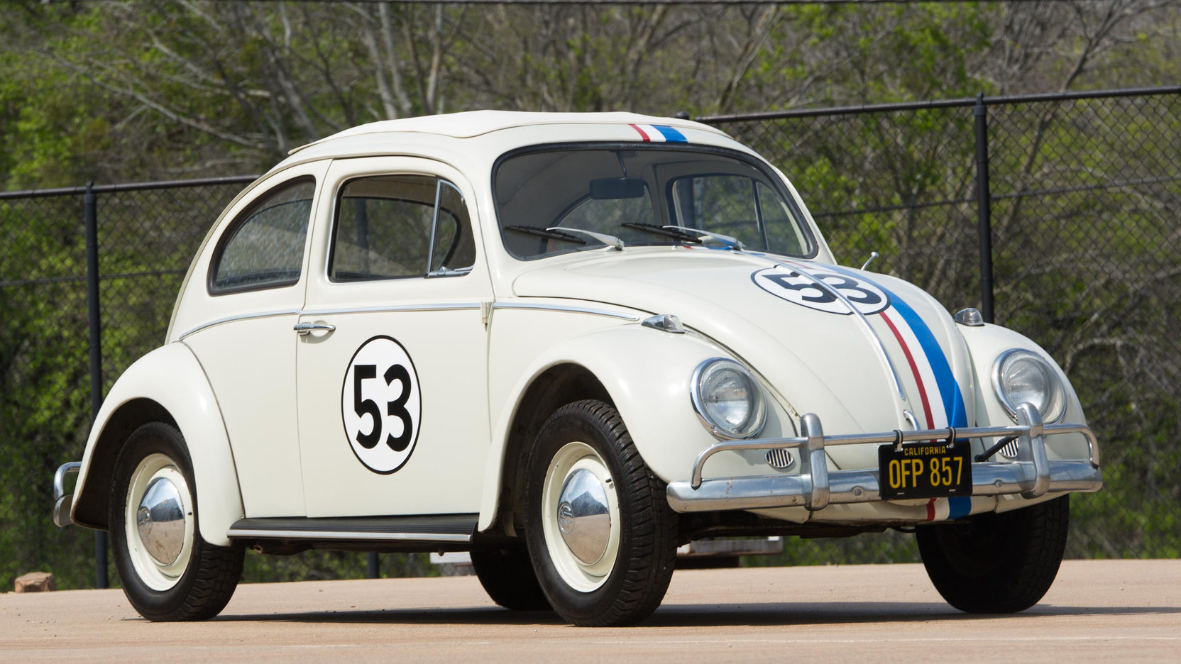 "1963 Volkswagen Beetle ""Herbie the Love Bug"""