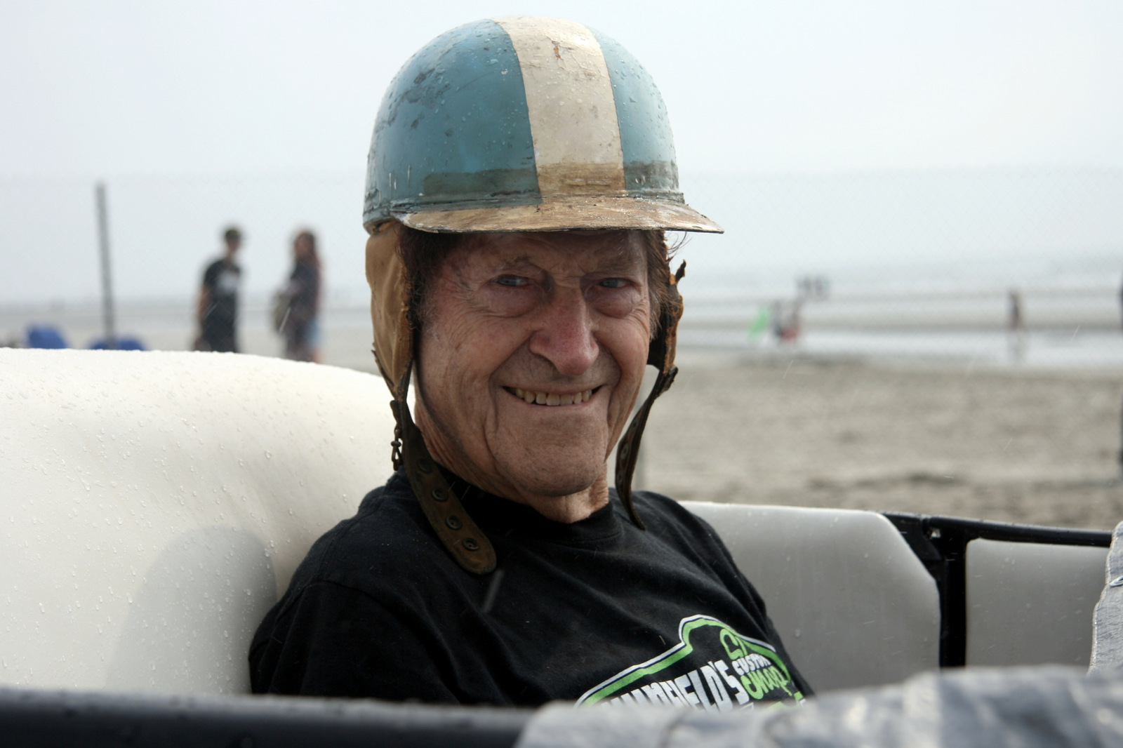 Gene Winfield has been racing on dry lakebeds out West since the 1940s.