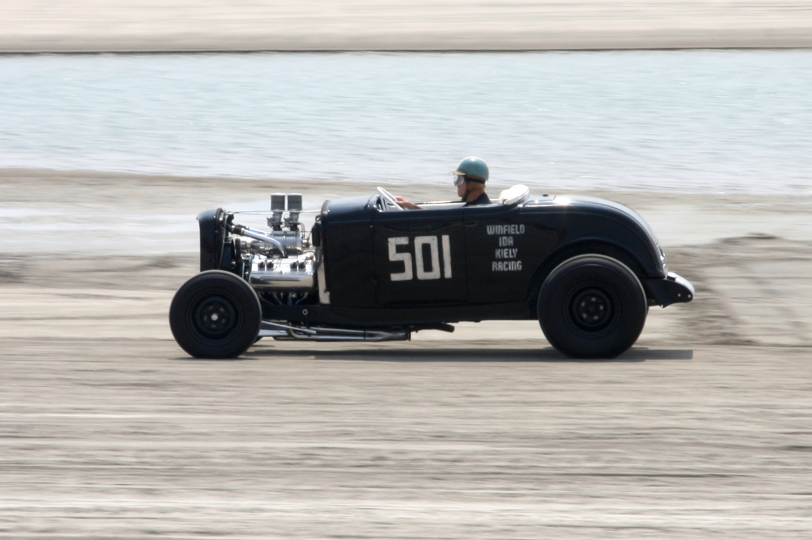 Gene Winfield, 91 years old and still racing.