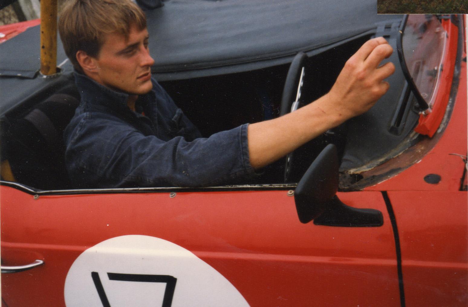 1984 brighton speed trials andrew english triumph tr4
