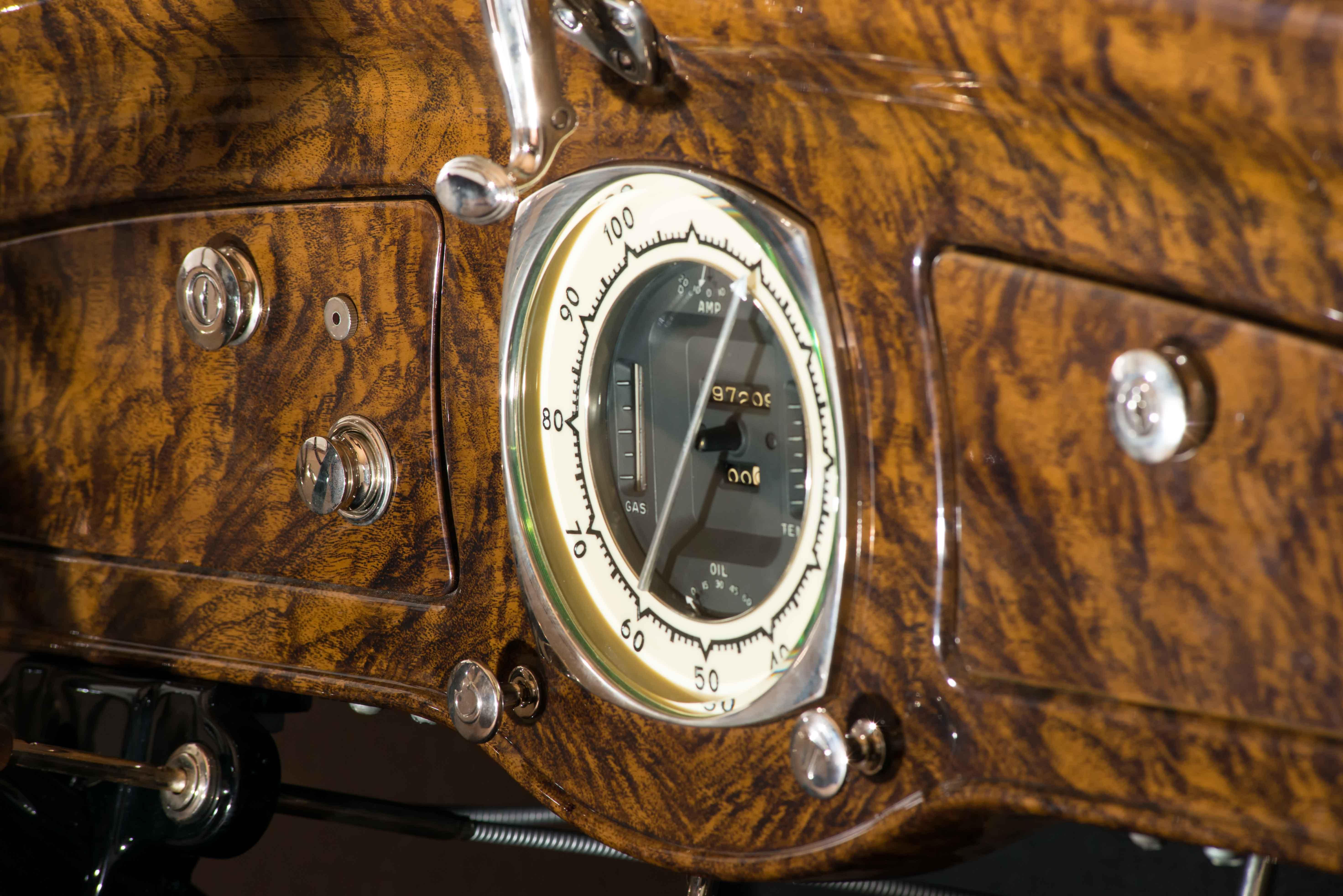1932 Graham Blue Streak speedometer