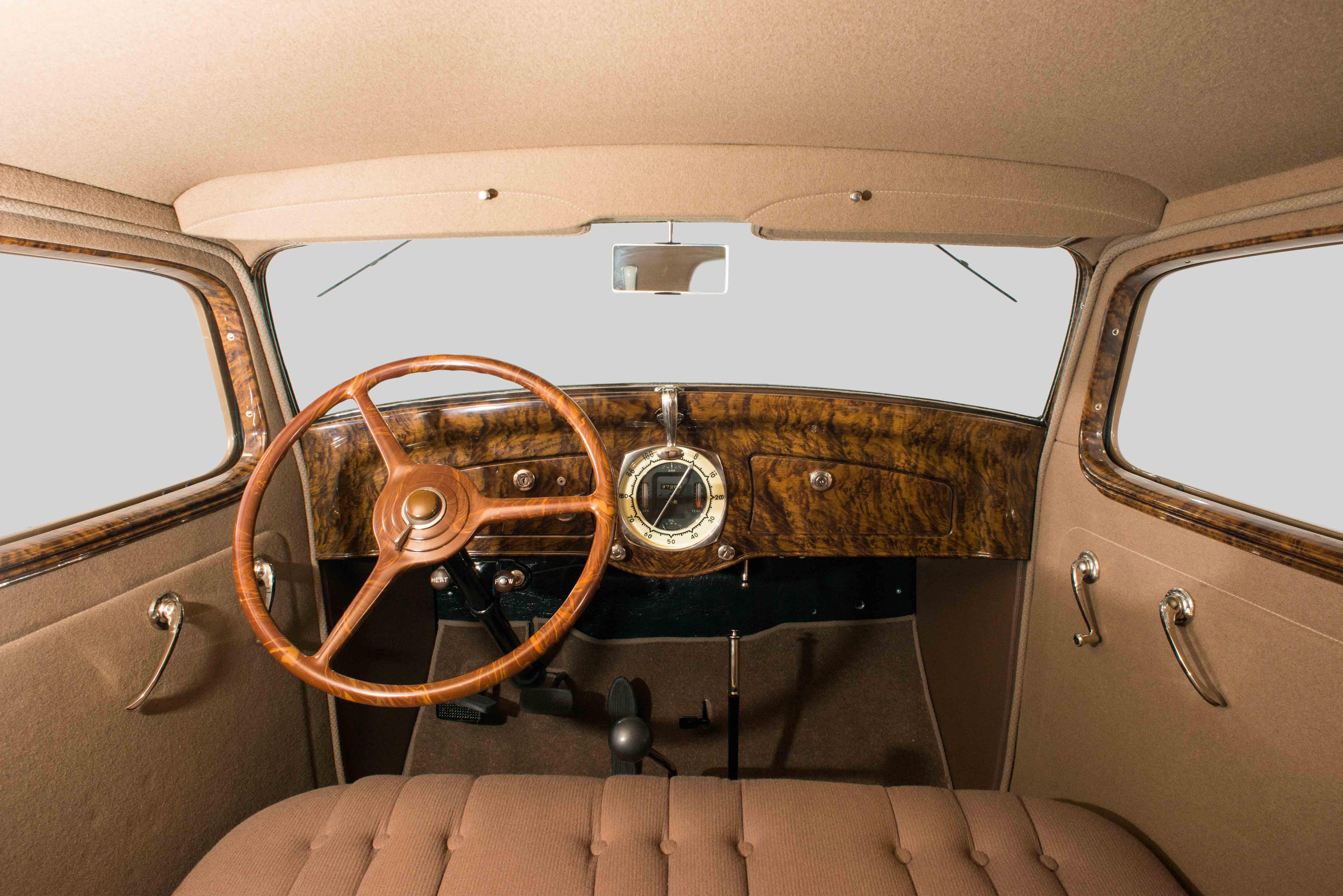 1932 Graham Blue Streak interior
