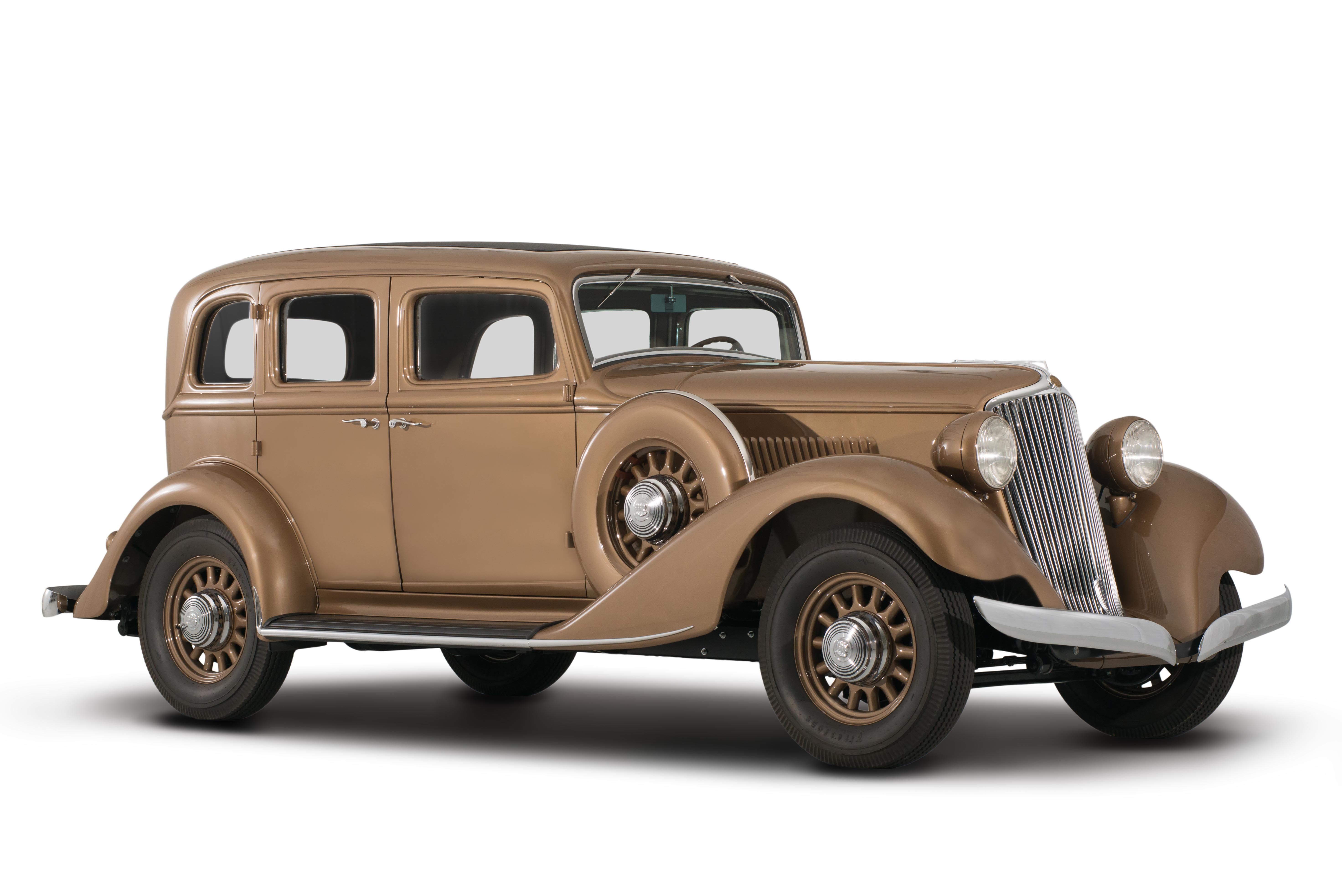 1932 Graham Blue Streak front 3/4
