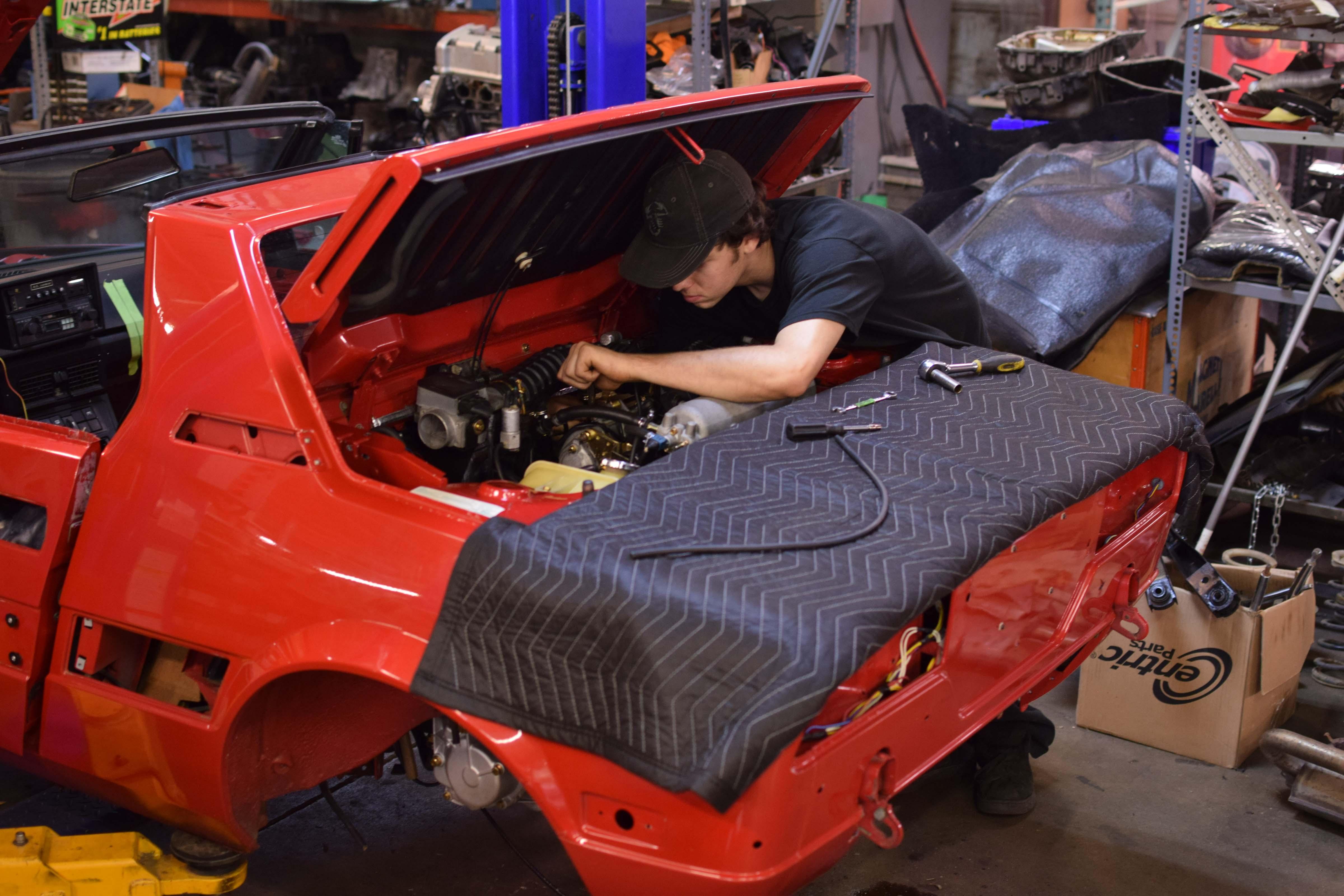 fiat engine work x19
