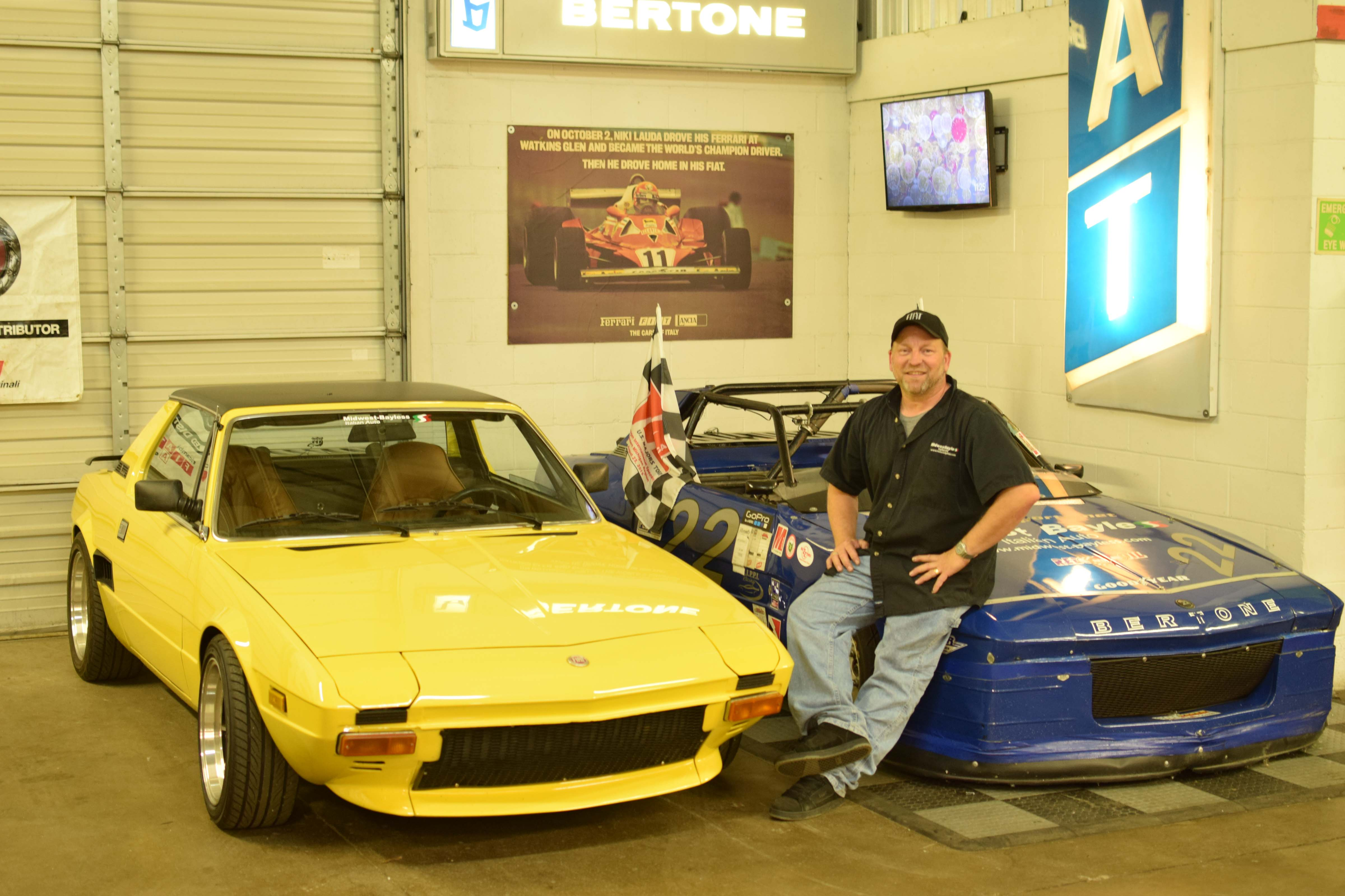 fiat x19 yellow with owner