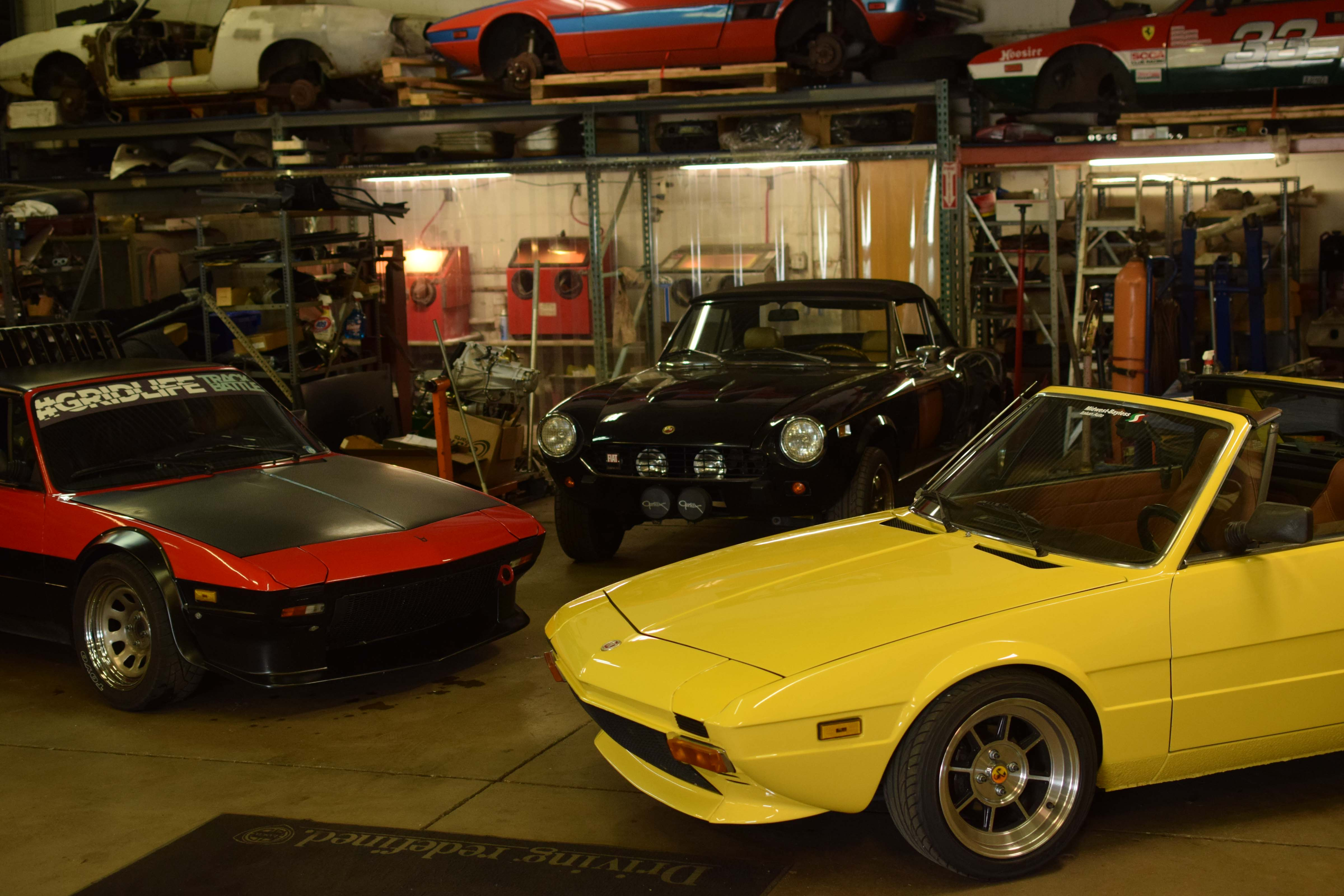 fiat x19 classic and race cars