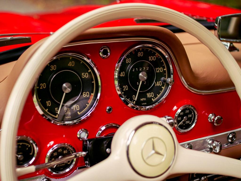 1955 Mercedes Benz 300 SL steering wheel