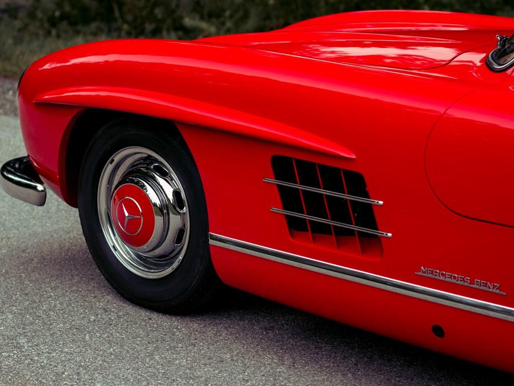 1955 Mercedes Benz 300 SL wheel