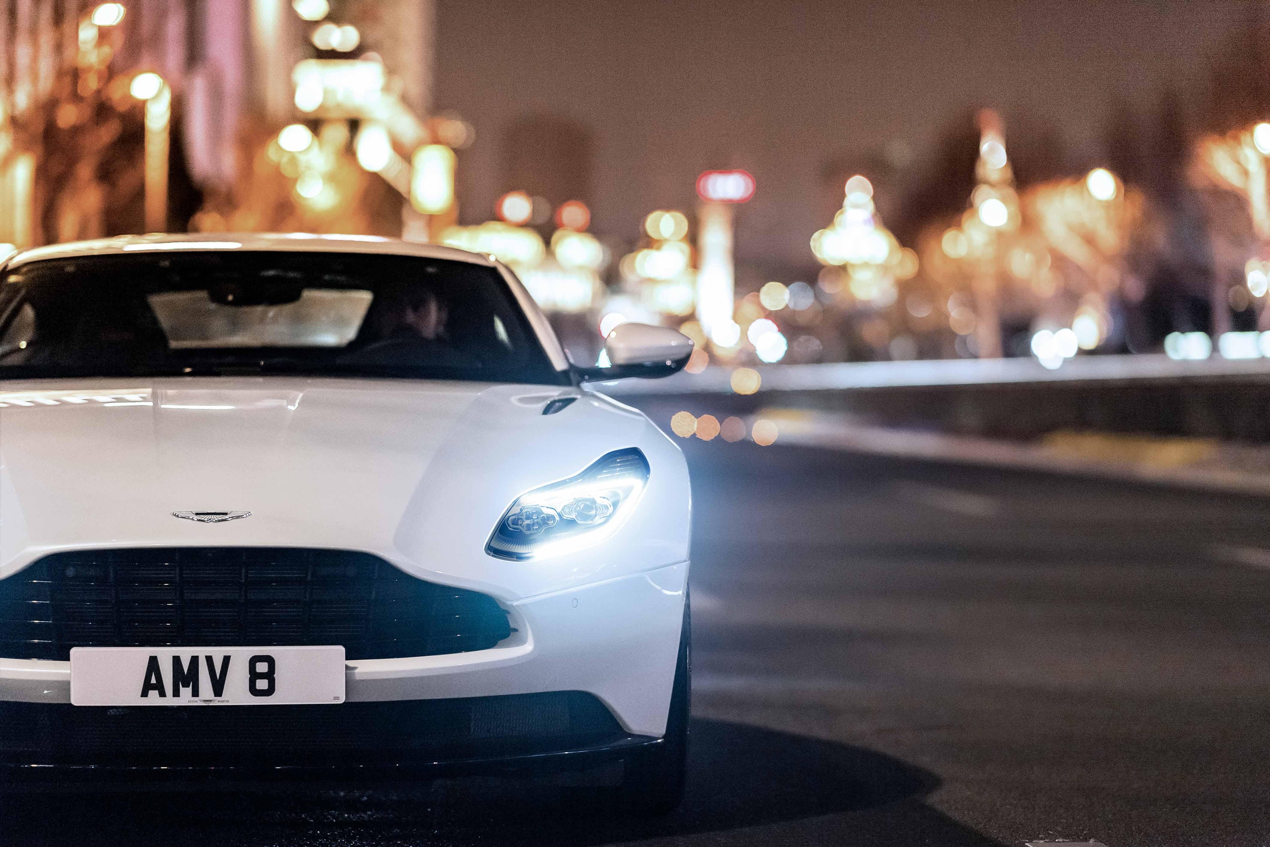 2018 Aston Martin DB11 V-8 city street